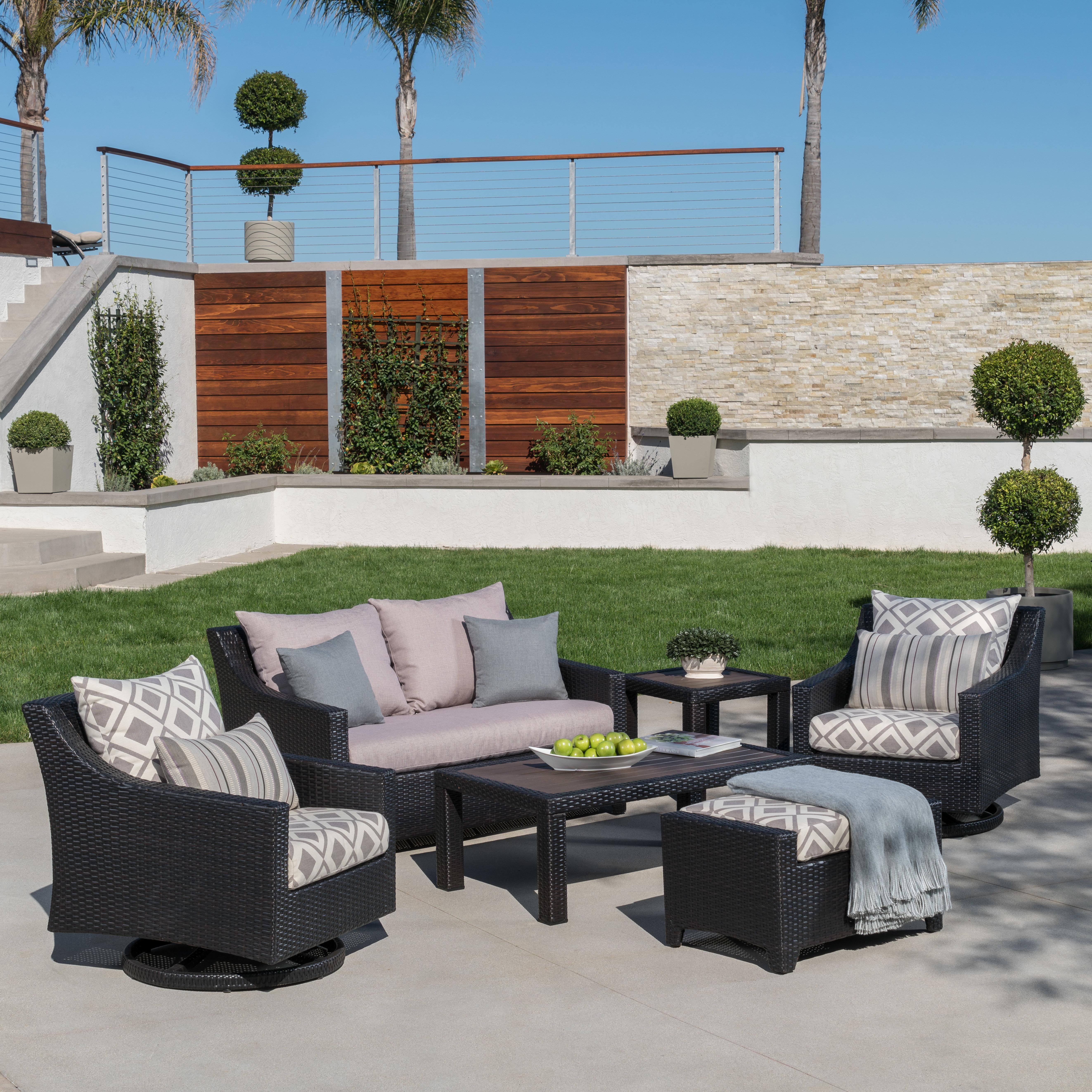 Preferred Northridge Loveseats With Cushions Throughout Northridge 6 Piece Sunbrella Sofa Set With Cushions (View 17 of 20)