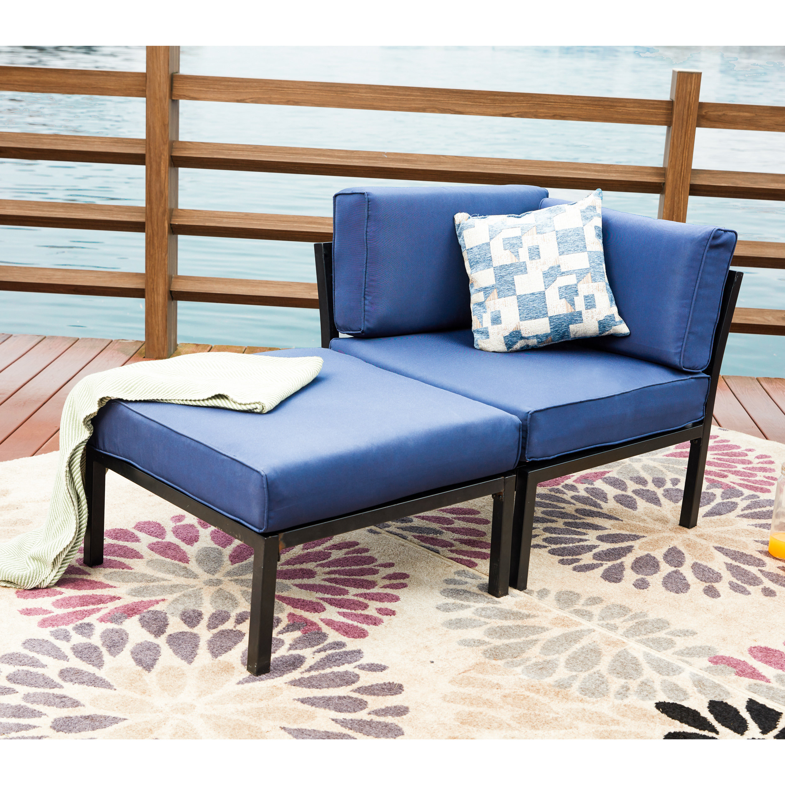 Preferred Payeur Loveseat With Cushions Throughout Bullock Outdoor Wooden Loveseats With Cushions (View 14 of 20)