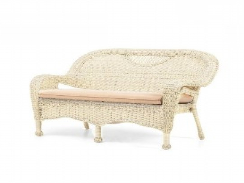 Prospect Hill Wicker Settee Benches Regarding Most Recently Released 61 Resin Wicker Settee, 44 Best Images About Craigslist (View 16 of 20)