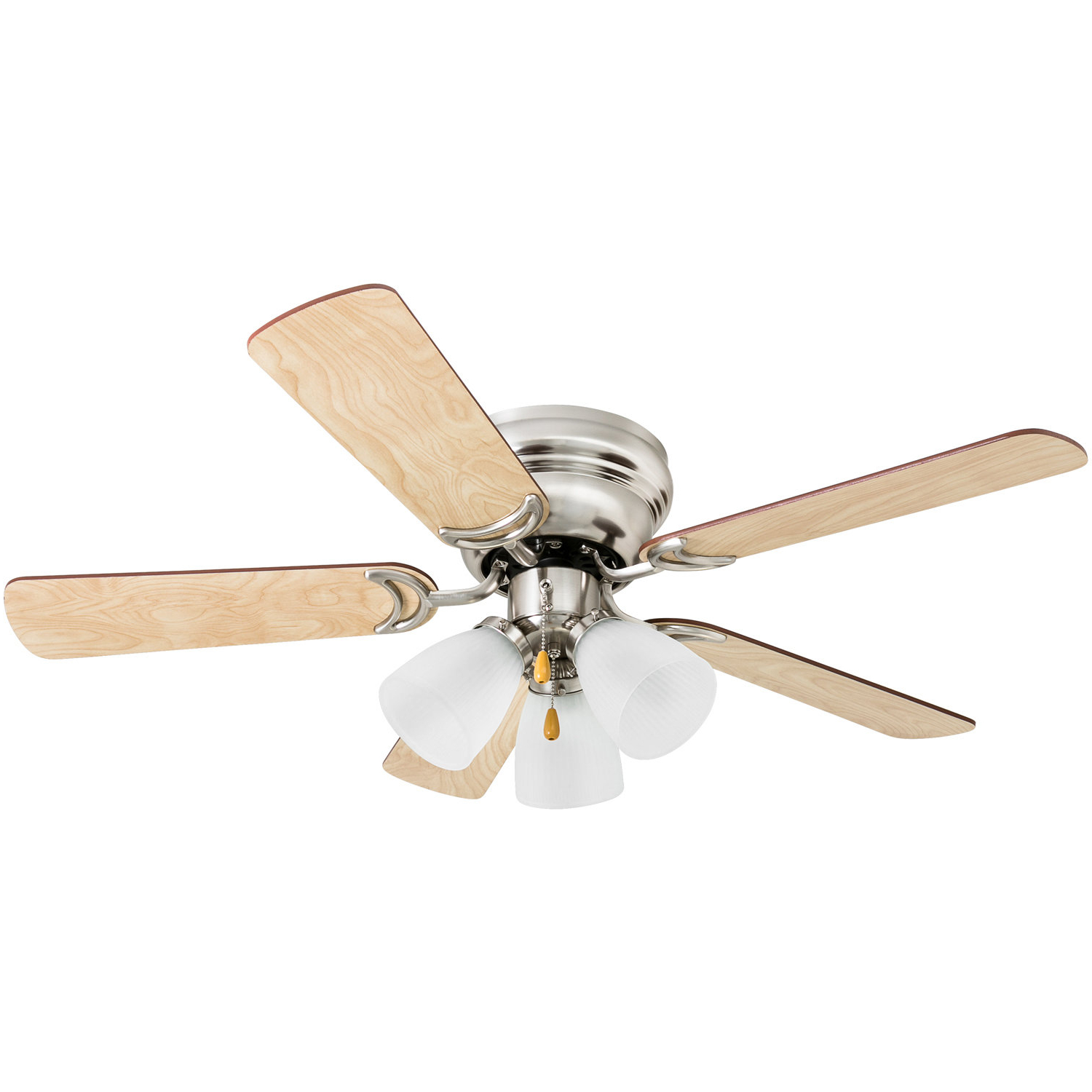 """Recent 42"""" 5 Blades Led Ceiling Fan, Light Kit Included Pertaining To Sven 5 Blade Ceiling Fans (View 15 of 20)"""