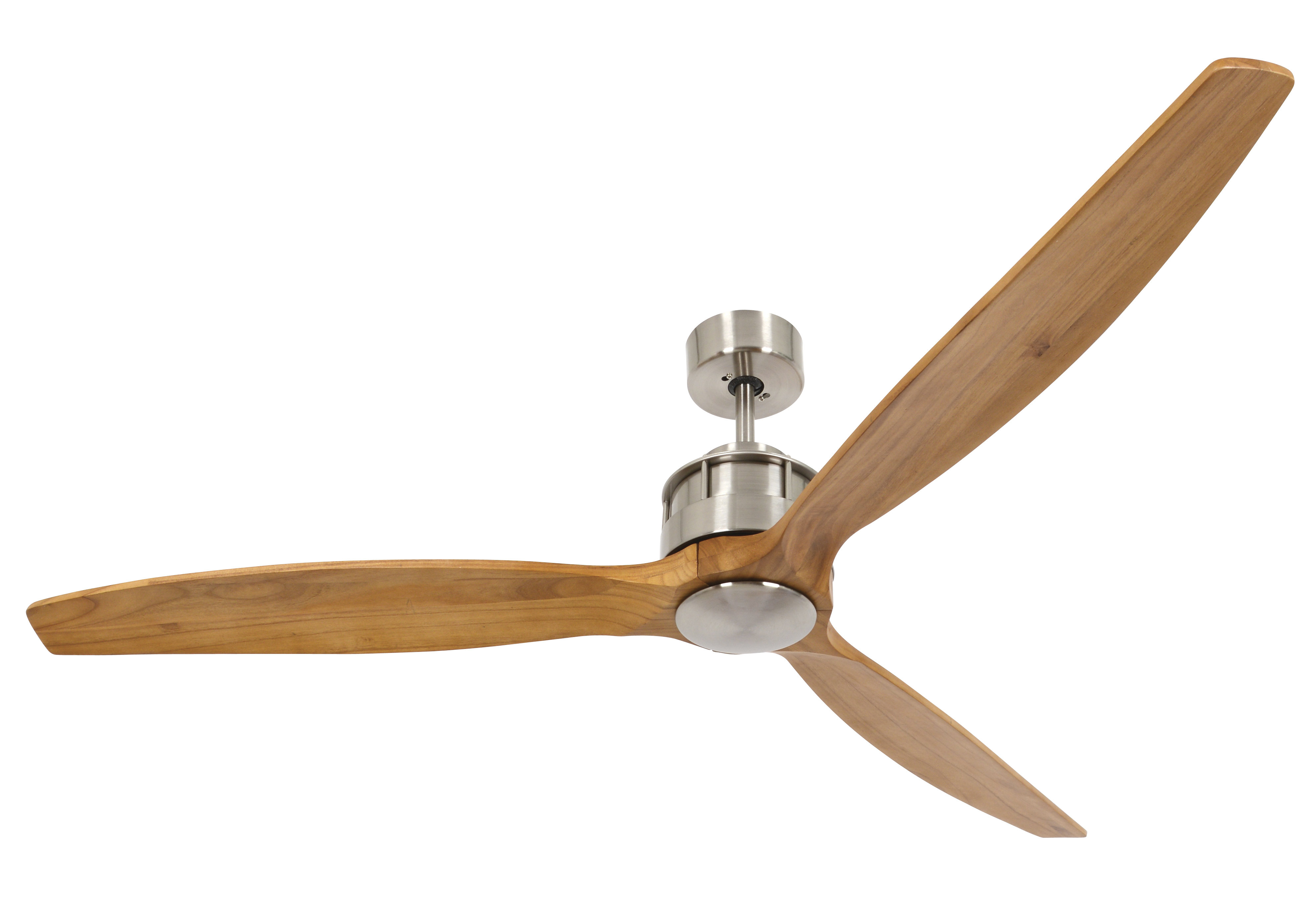 """Recent 60"""" Hutton Akmani 3 Blade Smart Ceiling Fan With Remote With Paige 3 Blade Led Ceiling Fans (View 17 of 20)"""