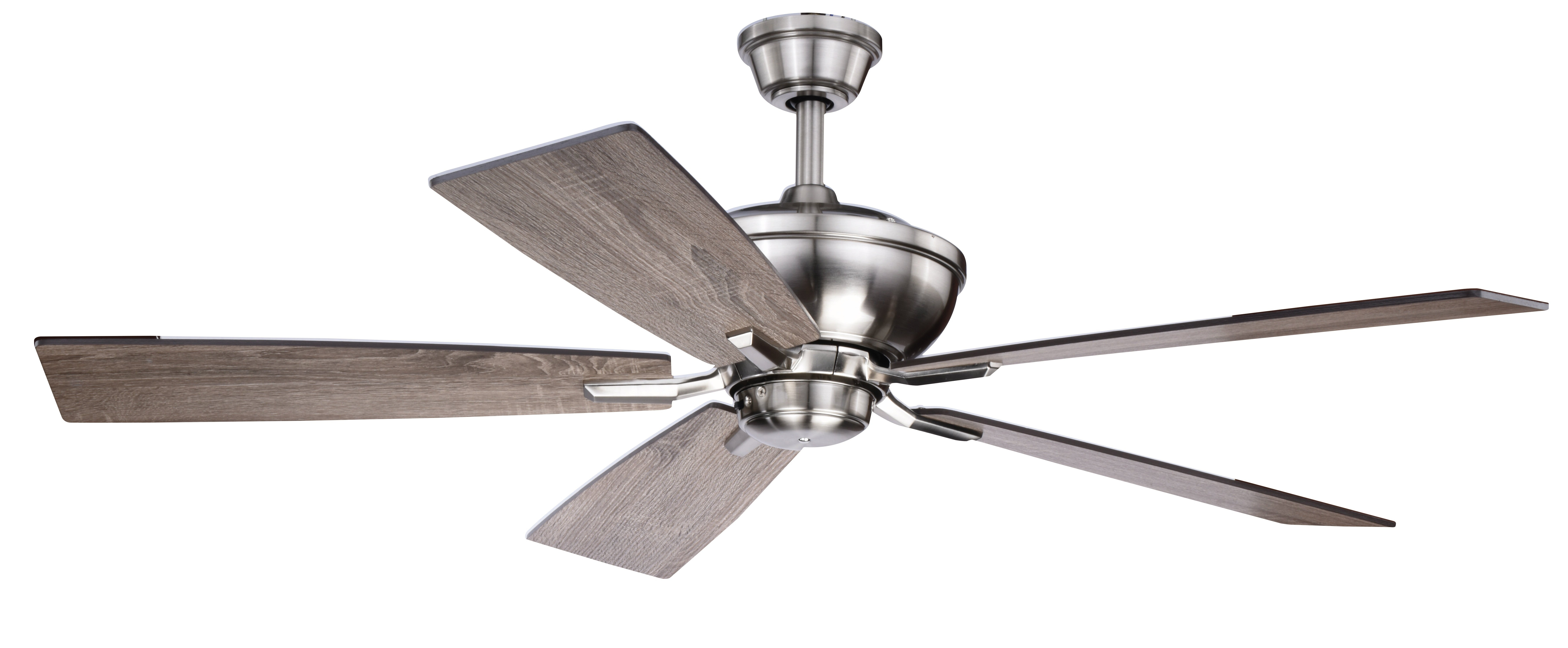 "Recent Clybourn 5 Blade Ceiling Fans In 52"" Hirsch 5 Blade Ceiling Fan With Remote, Light Kit Included (View 5 of 20)"