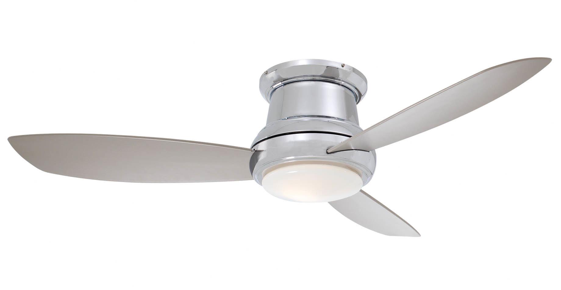 """Recent Concept 3 Blade Led Ceiling Fans Inside 44"""" Concept Ii 3 Blade Led Ceiling Fan (View 18 of 20)"""