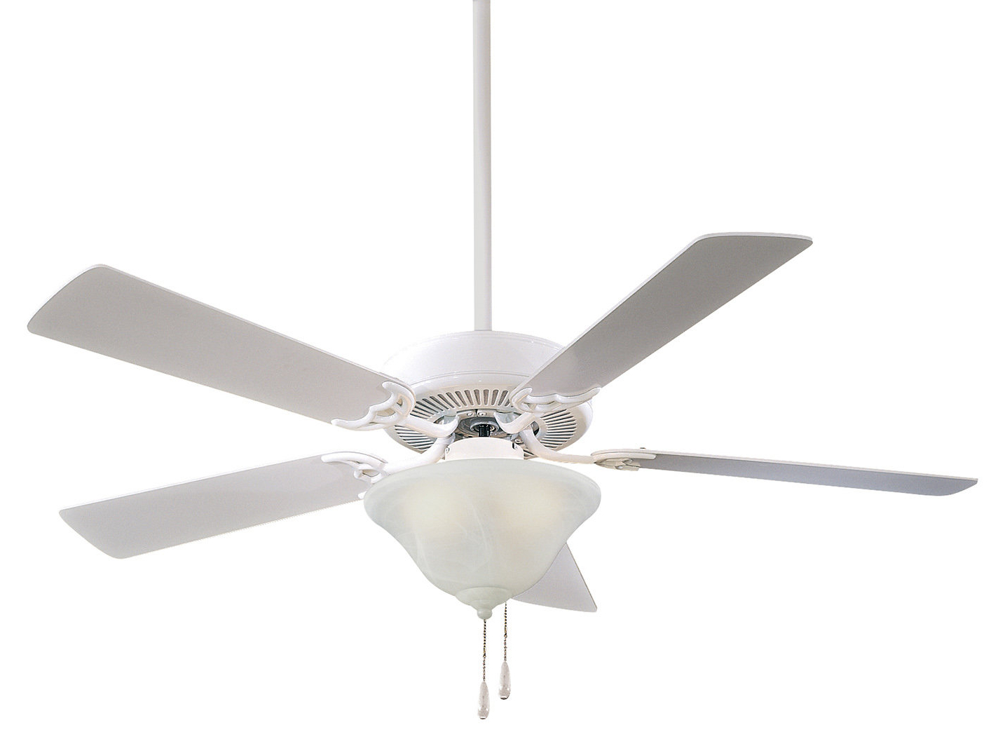 "Recent Contractor 5 Blade Ceiling Fans In 52"" Contractor Uni Pack 5 Blade Led Ceiling Fan (Gallery 11 of 20)"
