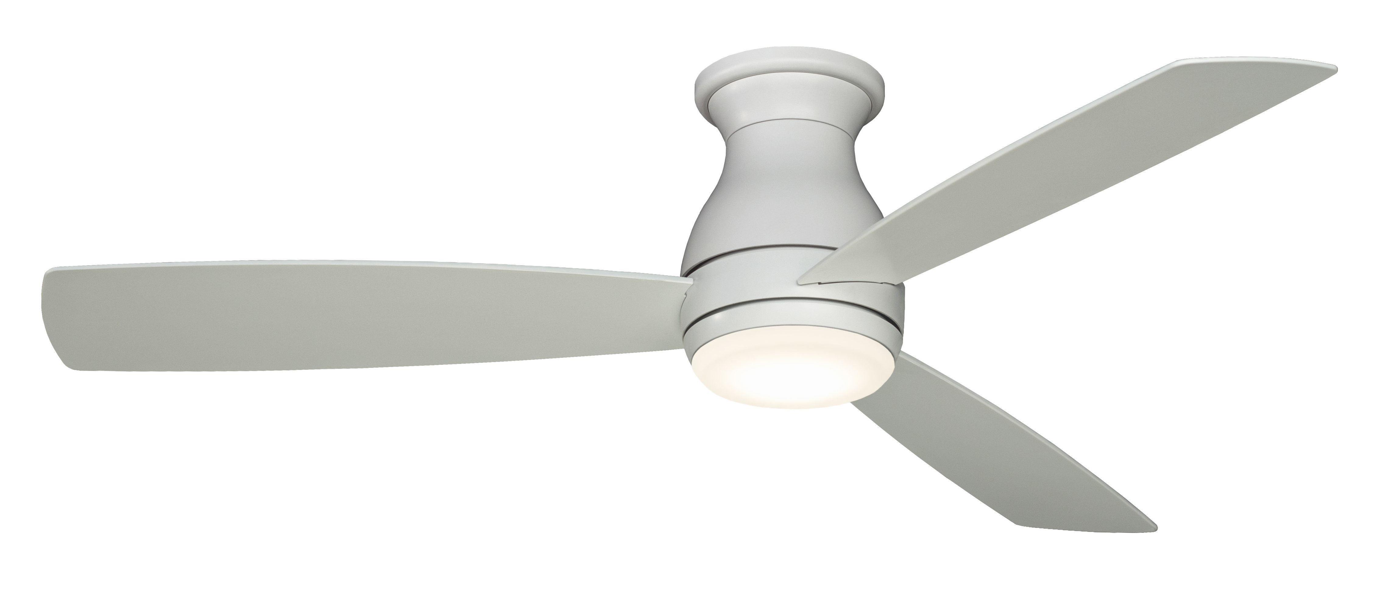 """Recent Paige 3 Blade Led Ceiling Fans Intended For 52"""" Hugh 3 Blade Outdoor Led Ceiling Fan (View 18 of 20)"""