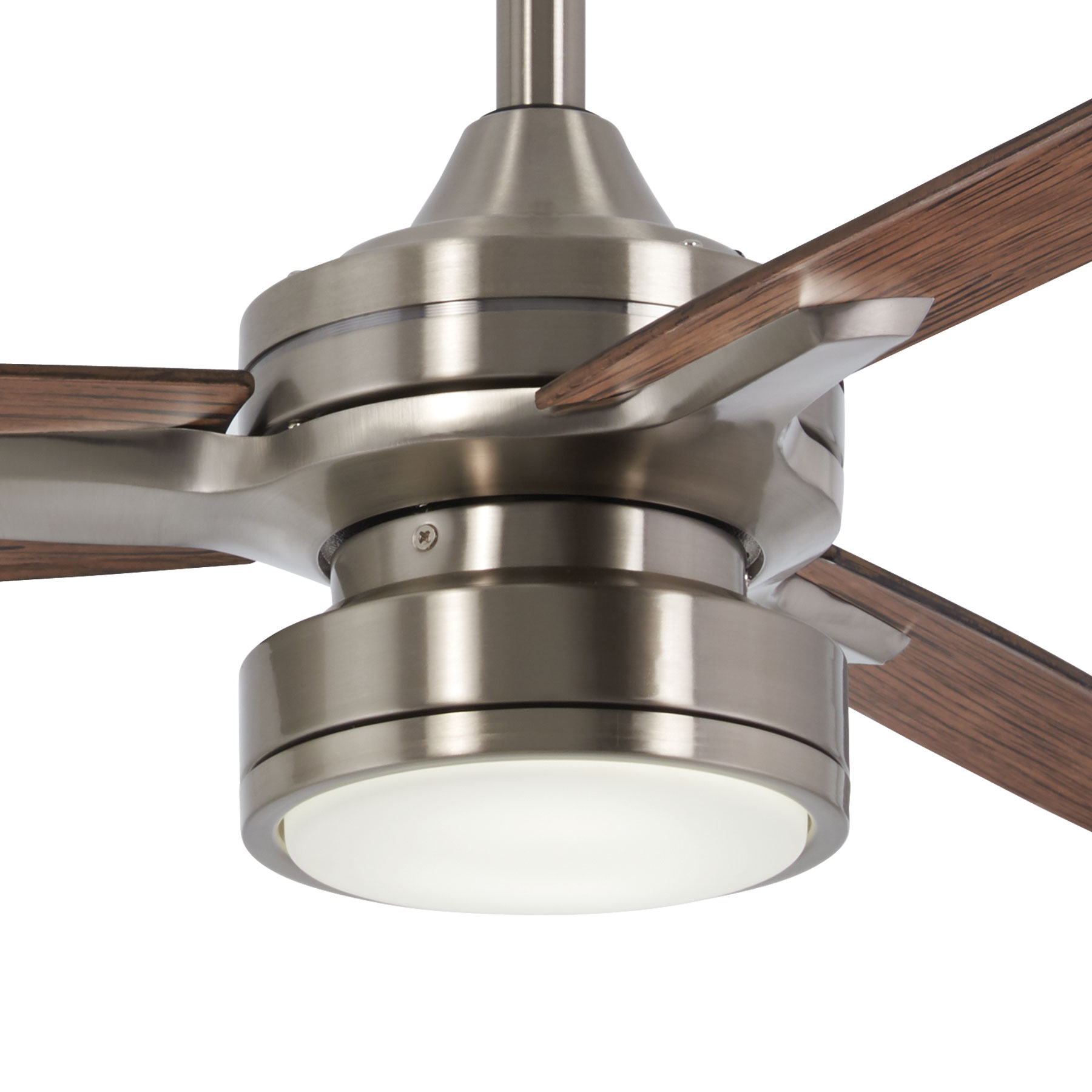 Rudolph 3 Blade Ceiling Fans In Trendy Minka Group® :: Brands :: Minka Aire® :: F727 Bn/mm (Gallery 12 of 20)