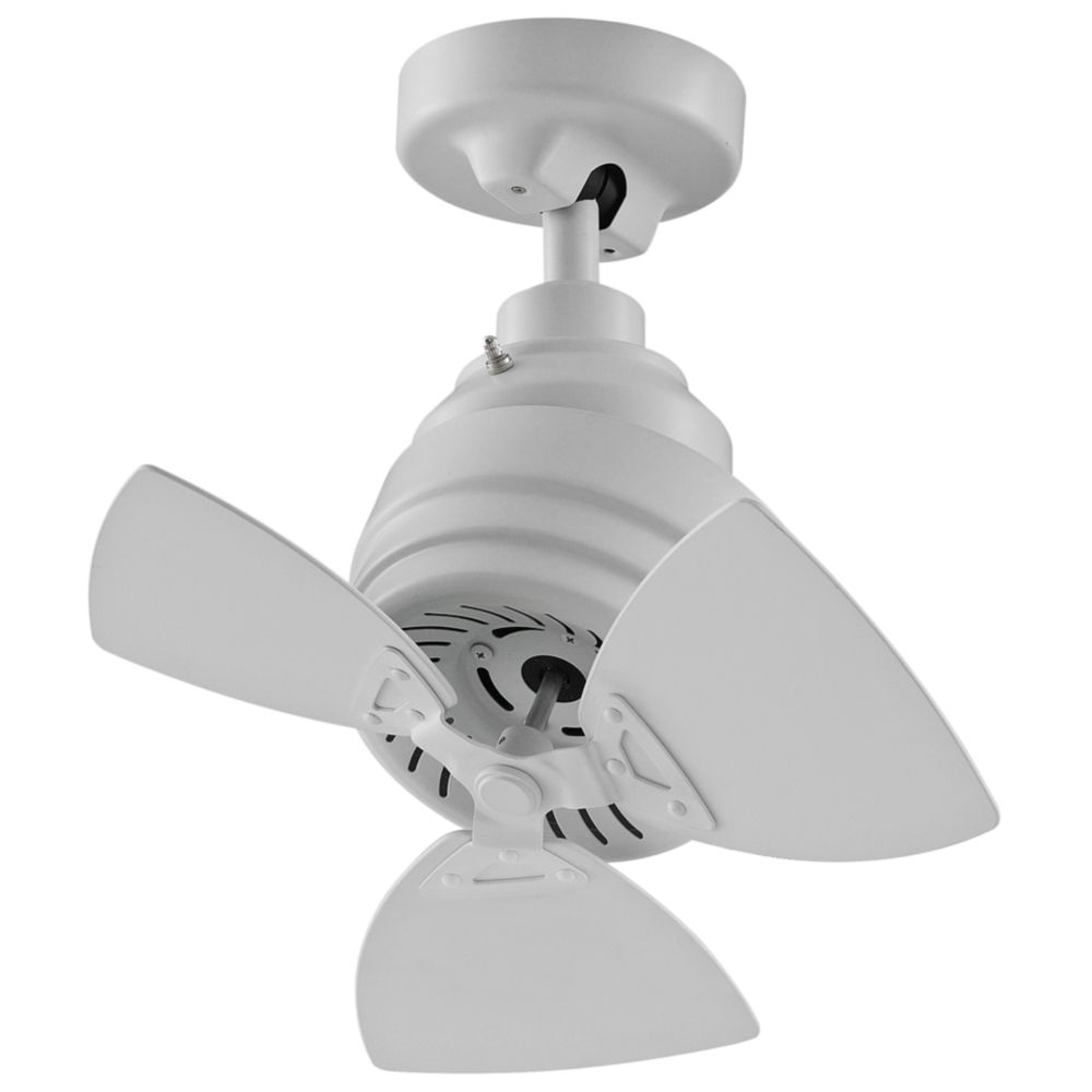 "Saito 6 Blade Ceiling Fans Regarding Famous 19"" Fanimation Rotation Matte White Damp Ceiling Fan – Style (View 16 of 20)"