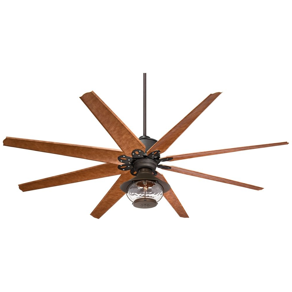 "Sheyla 5 Blade Led Ceiling Fans Inside Preferred 72"" Predator English Bronze Lantern Outdoor Led Ceiling Fan (View 10 of 20)"