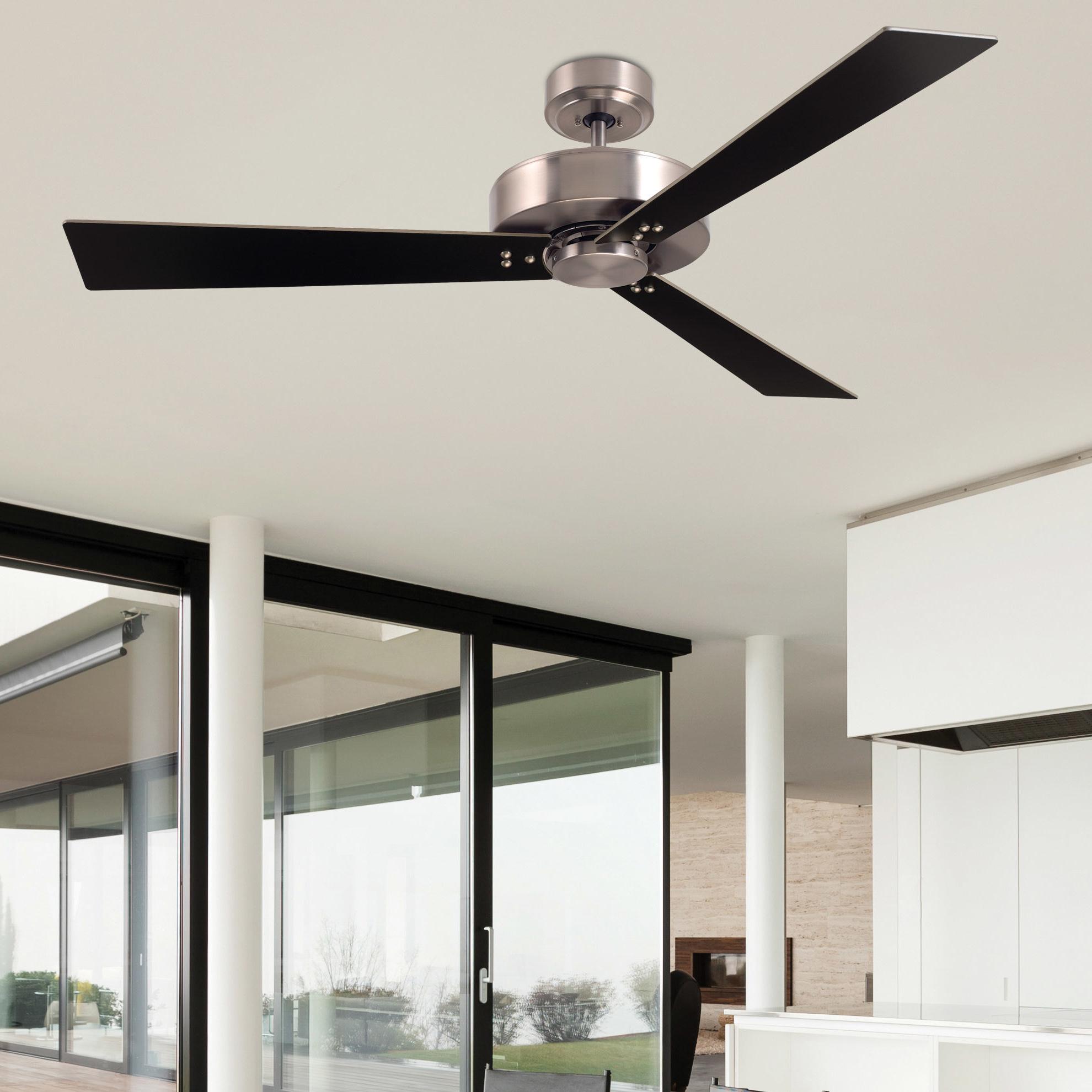 "Smoak 3 Blade Ceiling Fans Throughout Recent 52"" Troxler 3 Blade Ceiling Fan (View 19 of 20)"