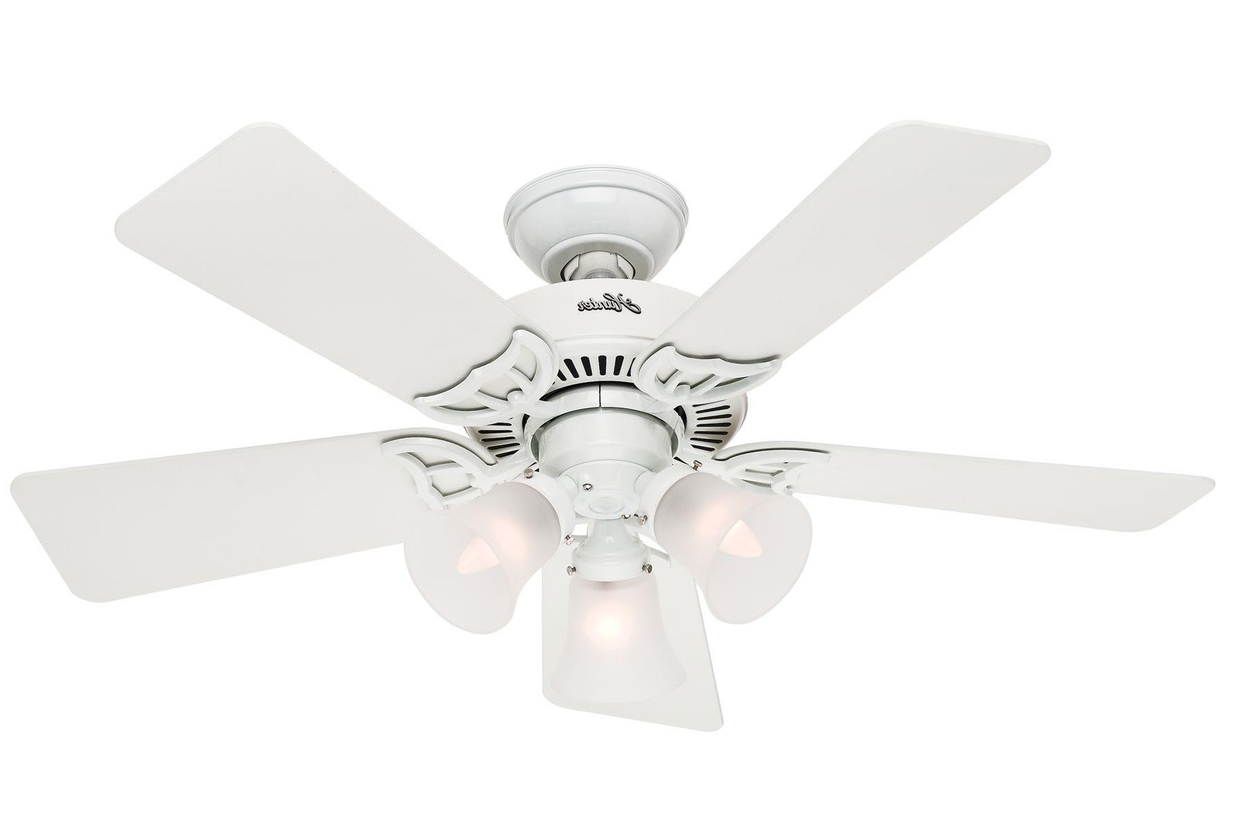 Southern Breeze 5 Blade Ceiling Fans Inside Recent Hunter Southern Breeze Ceiling Fan Model 51010 (Gallery 1 of 20)