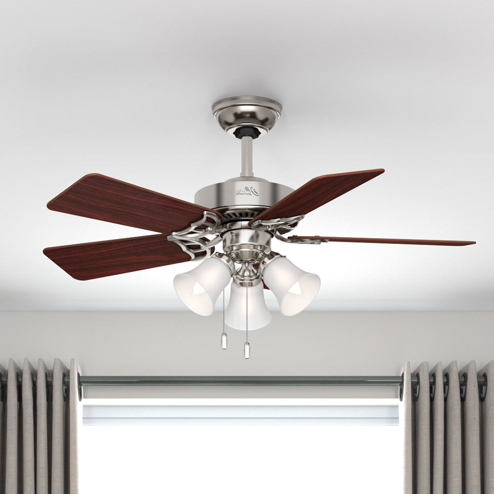 """Southern Breeze 5 Blade Ceiling Fans Intended For Most Current 42"""" Southern Breeze® 5 Blade Ceiling Fan, Light Kit Include (View 3 of 20)"""