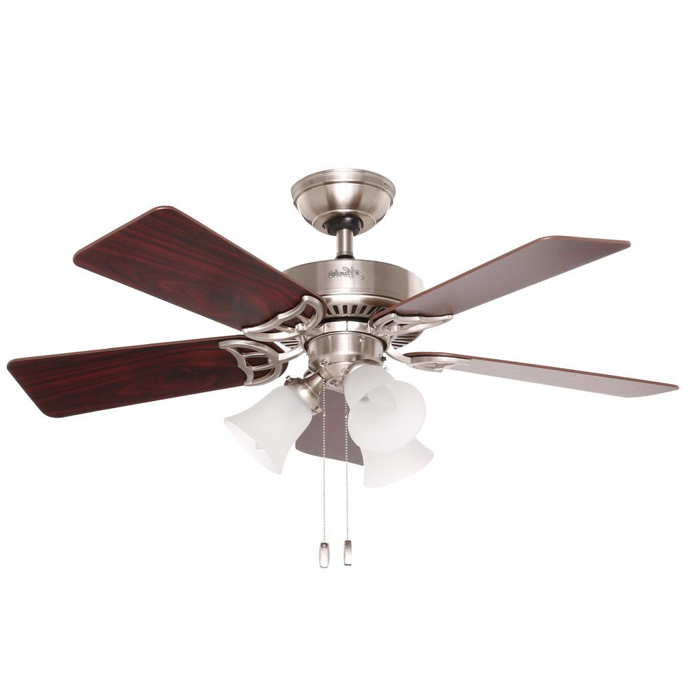 Southern Breeze 5 Blade Ceiling Fans With Trendy Hunter Southern Breeze 42 In (View 2 of 20)
