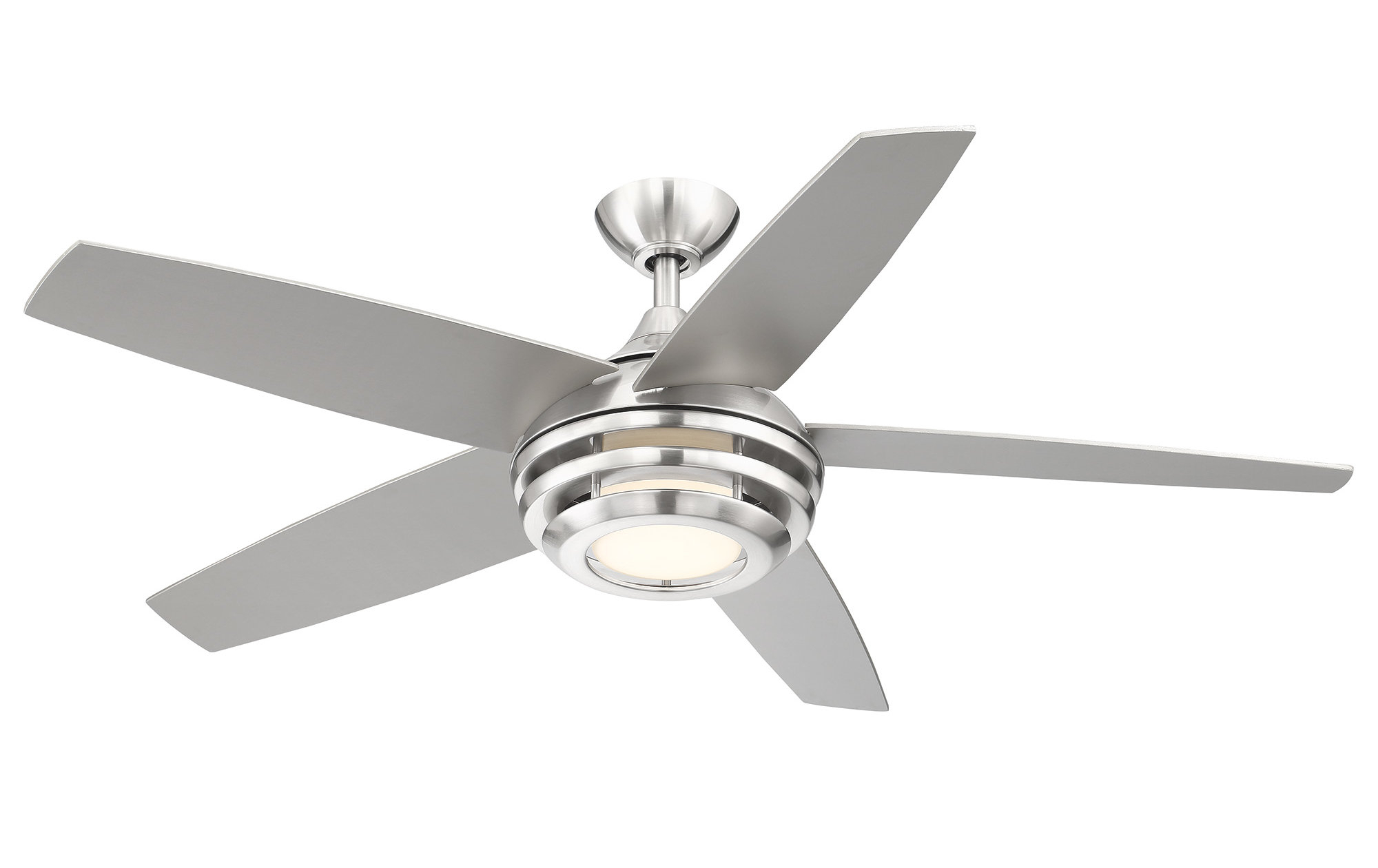 Staton 5 Blade Led Ceiling Fan With Remote For Well Known Cedarton Hugger 5 Blade Led Ceiling Fans (View 19 of 20)