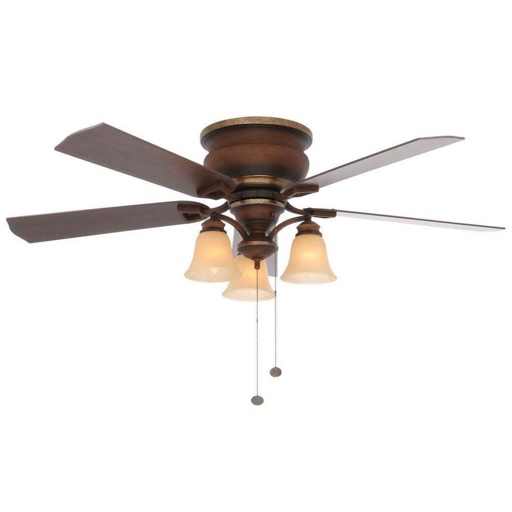 Sudie 5 Blade Led Ceiling Fans Throughout 2019 Hampton Bay Eastvale 52 In (View 18 of 20)