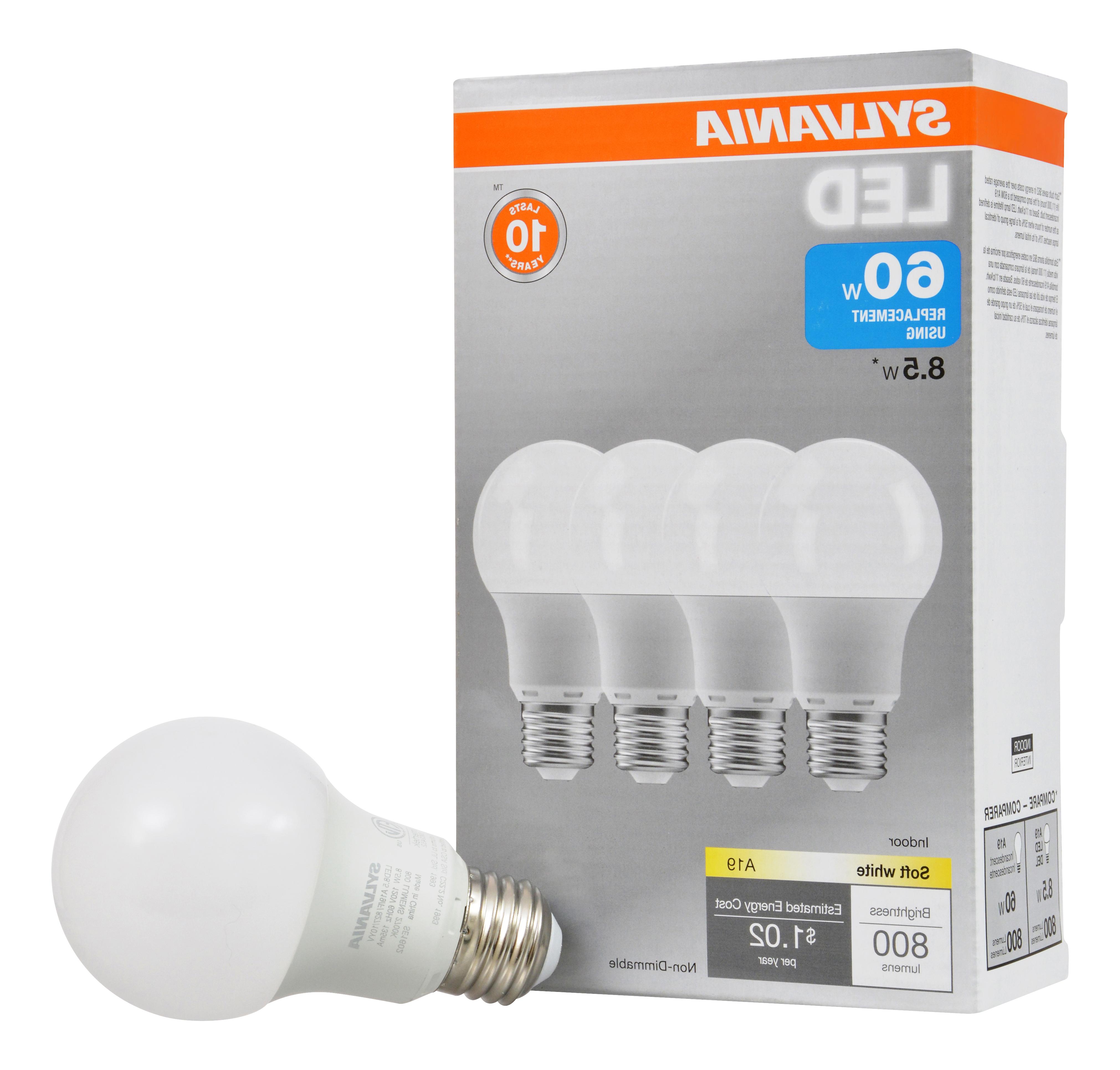 Sylvania Led Light Bulbs,  (View 13 of 20)