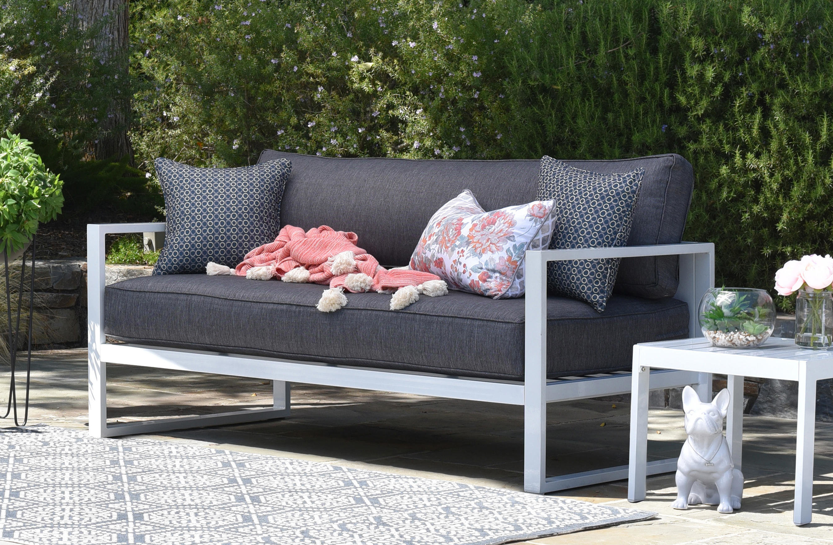 Sylvania Outdoor Loveseats With 2019 Paloma Sofa With Cushions & Reviews (View 10 of 20)