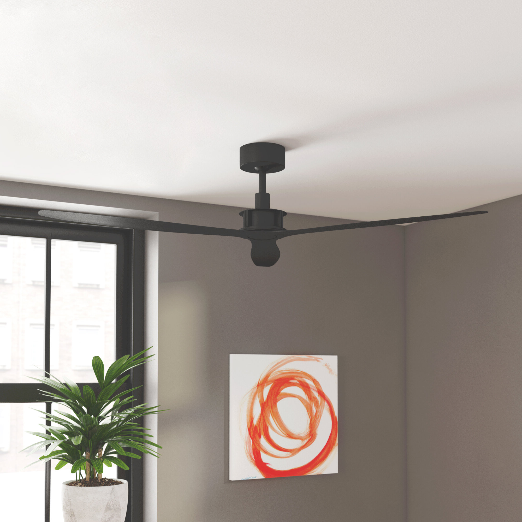 """Theron Catoe 3 Blade Ceiling Fans In Well Liked Theron 52"""" Catoe 3 Blade Ceiling Fan With Remote (View 12 of 20)"""