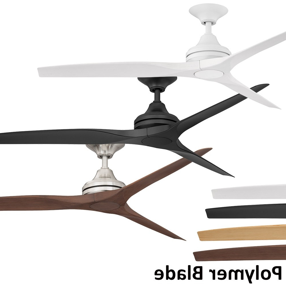 Threesixty Spitfire 1520mm Polymer 3 Blade Ceiling Fan Range Pertaining To Fashionable Spitfire 3 Blade Ceiling Fans (View 20 of 20)
