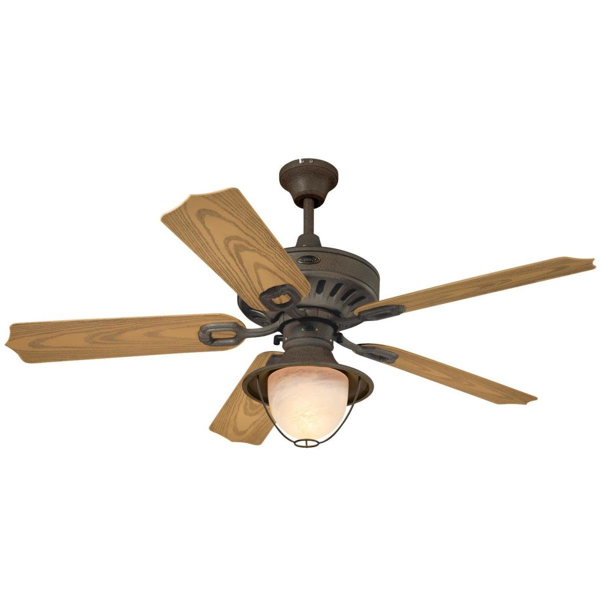 """Trendy 52"""" Urbana 5 Blade Ceiling Fan, Light Kit Included With Quebec 5 Blade Ceiling Fans (View 6 of 20)"""