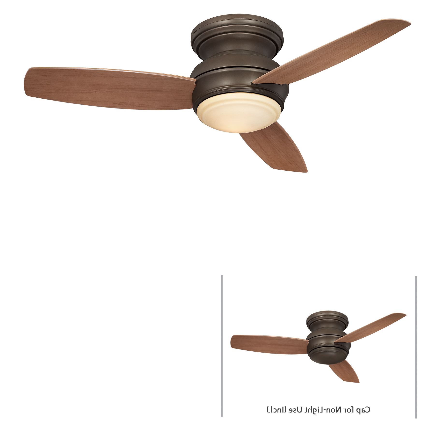 Trendy Concept 3 Blade Led Ceiling Fans Pertaining To Minka Group® :: Brands :: Minka Aire® :: F593L Orb (View 19 of 20)