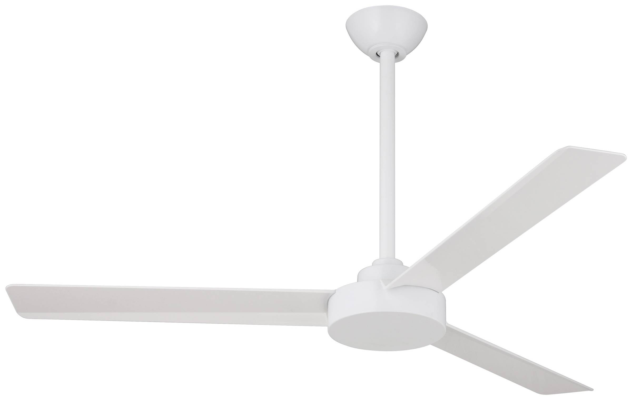 Trendy Minka Aire Roto Ceiling Fan Model Mf F524 Whf In Flat White Intended For Roto 3 Blade Ceiling Fans (View 12 of 20)
