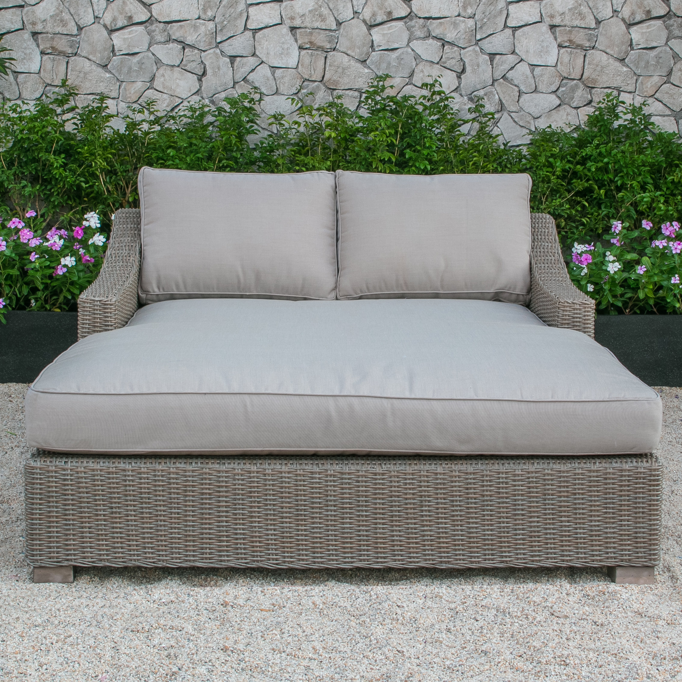 Trendy Naperville Patio Daybed With Cushion Regarding Tiana Patio Daybeds With Cushions (View 20 of 20)