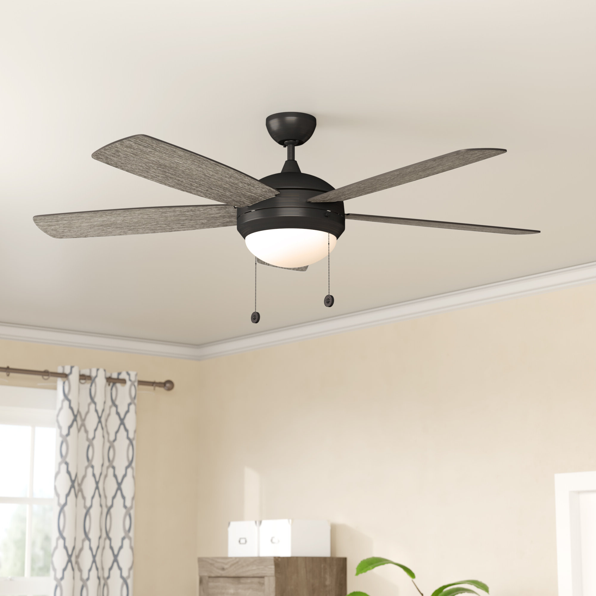 Trendy Wide Blade Ceiling Fans In Sven 5 Blade Ceiling Fans (View 6 of 20)