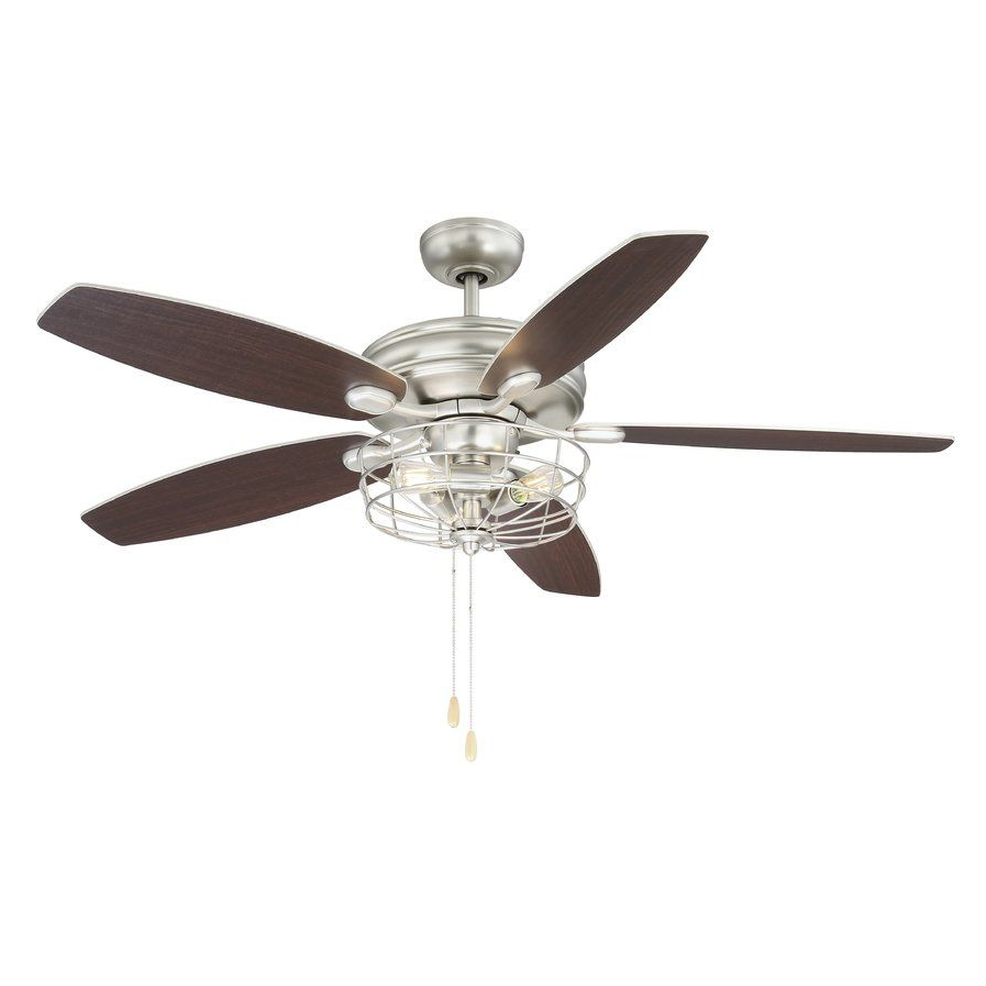 "Trendy Wilburton 5 Blade Ceiling Fans With Remote For 52"" Kyla 5 Blade Ceiling Fan (View 14 of 20)"