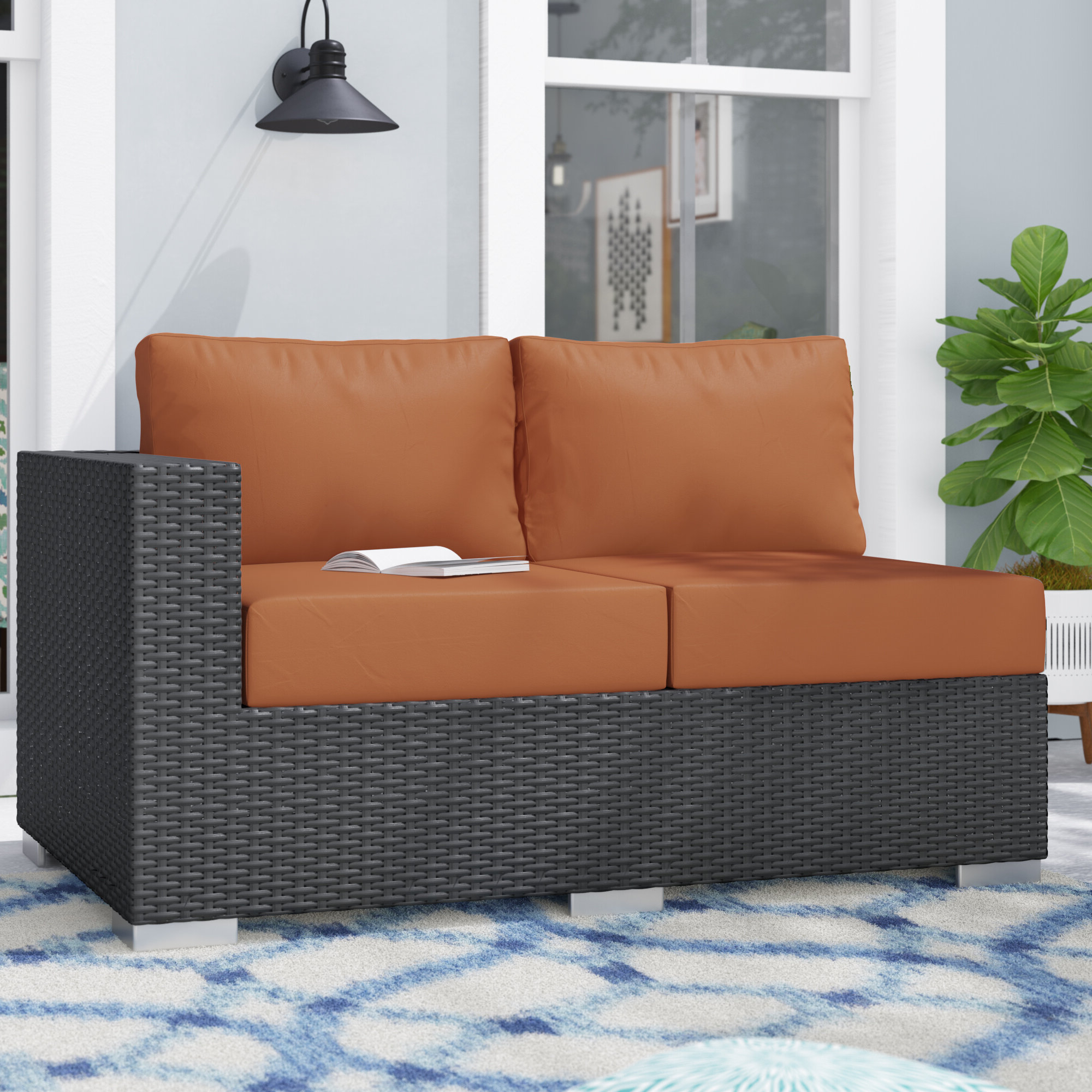 Tripp Right Arm Loveseat Sectional Piece With Cushions Regarding 2020 Tripp Loveseats With Cushions (View 4 of 20)