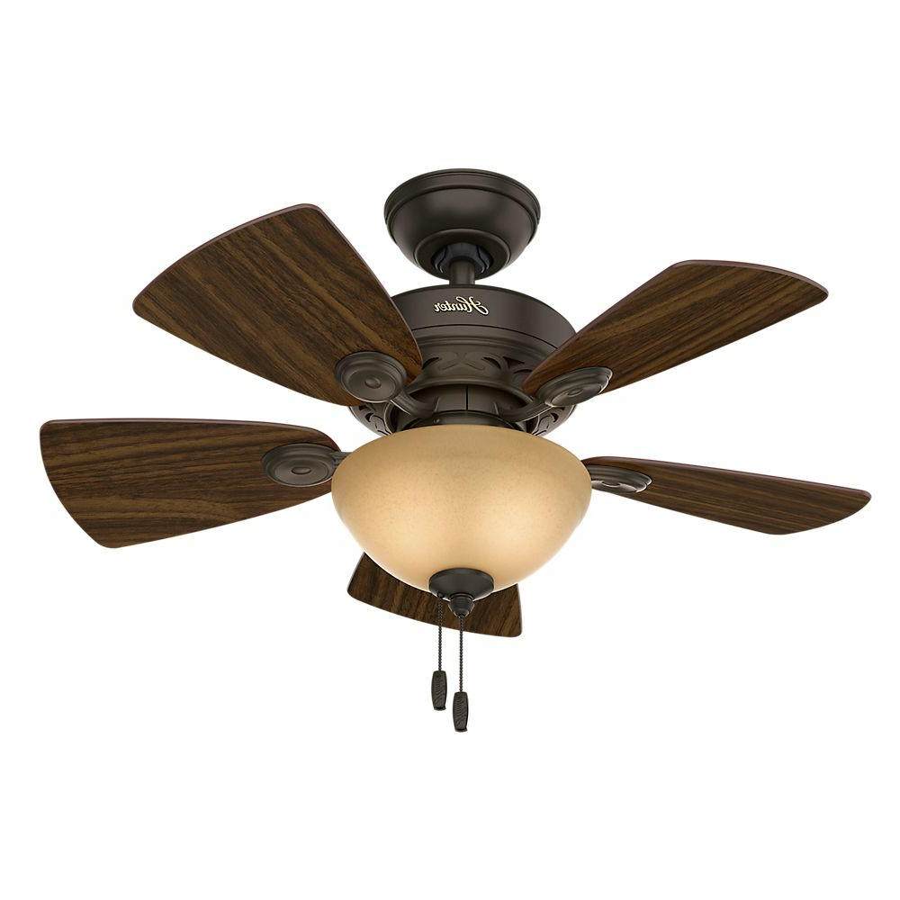Watson 5 Blade Ceiling Fans Intended For Most Popular Hunter Watson 34 In (View 4 of 20)