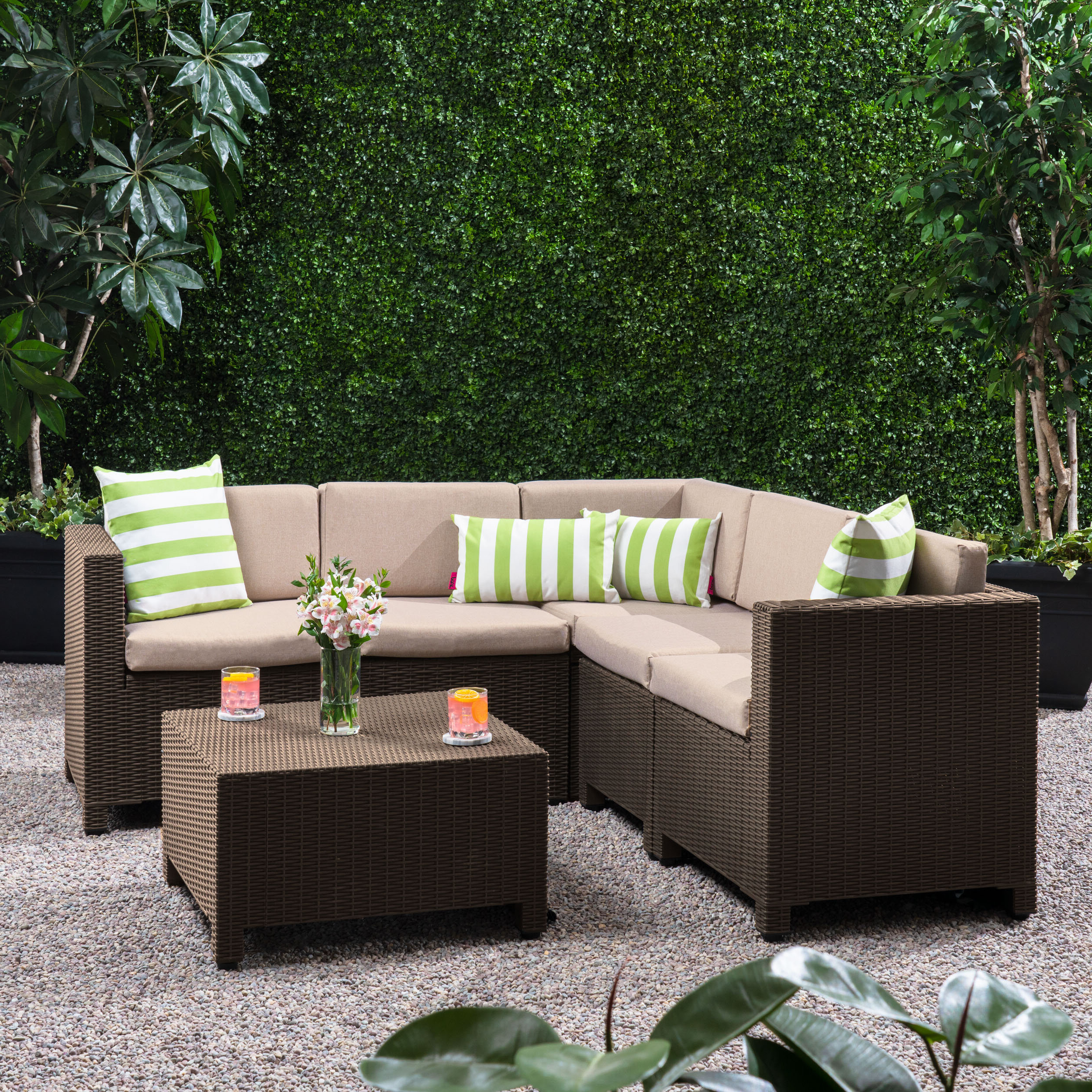 Wayfair For Favorite Wrobel Patio Sectionals With Cushion (View 12 of 20)
