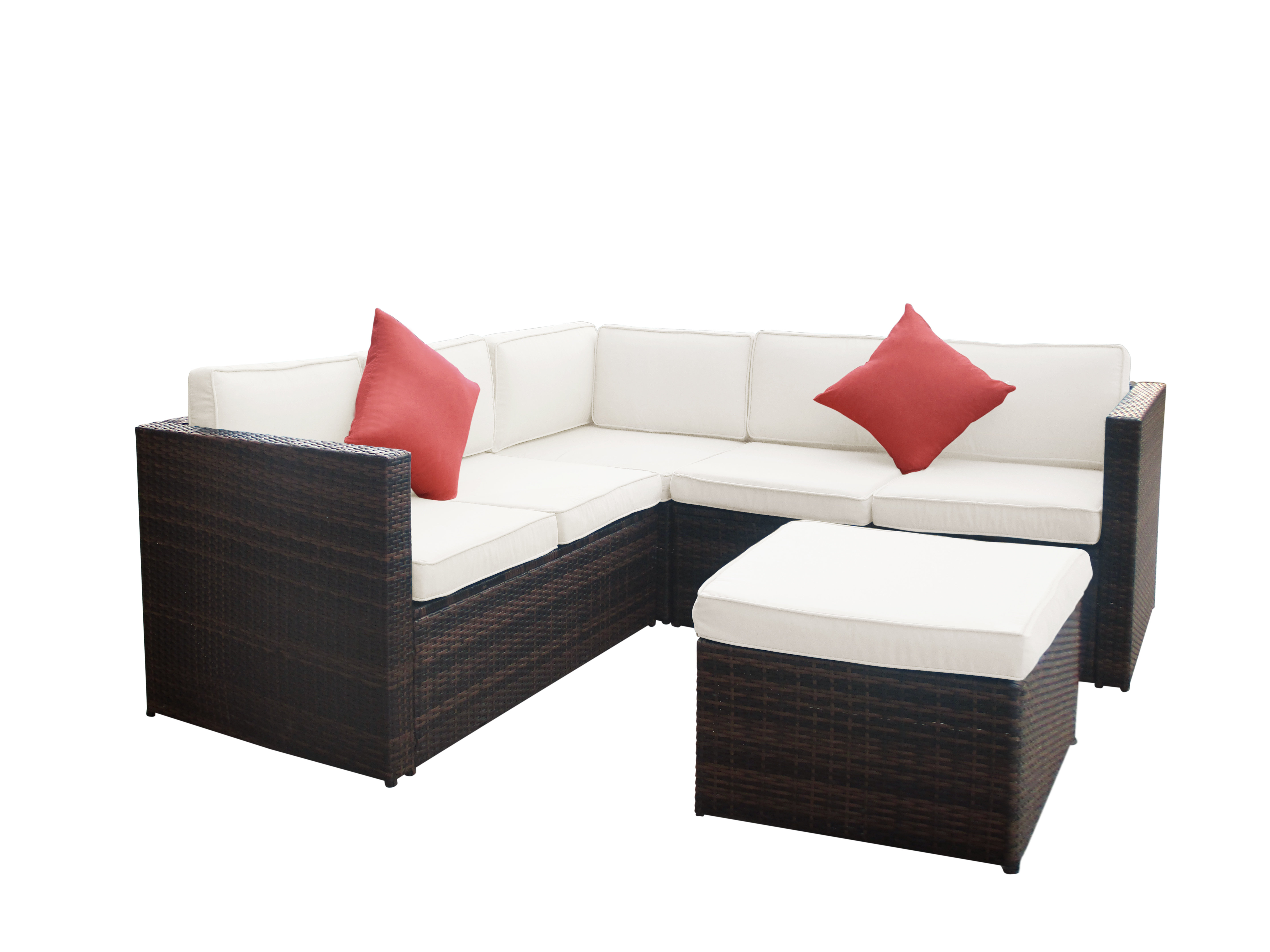 Wayfair With Wrobel Patio Sectionals With Cushion (View 17 of 20)