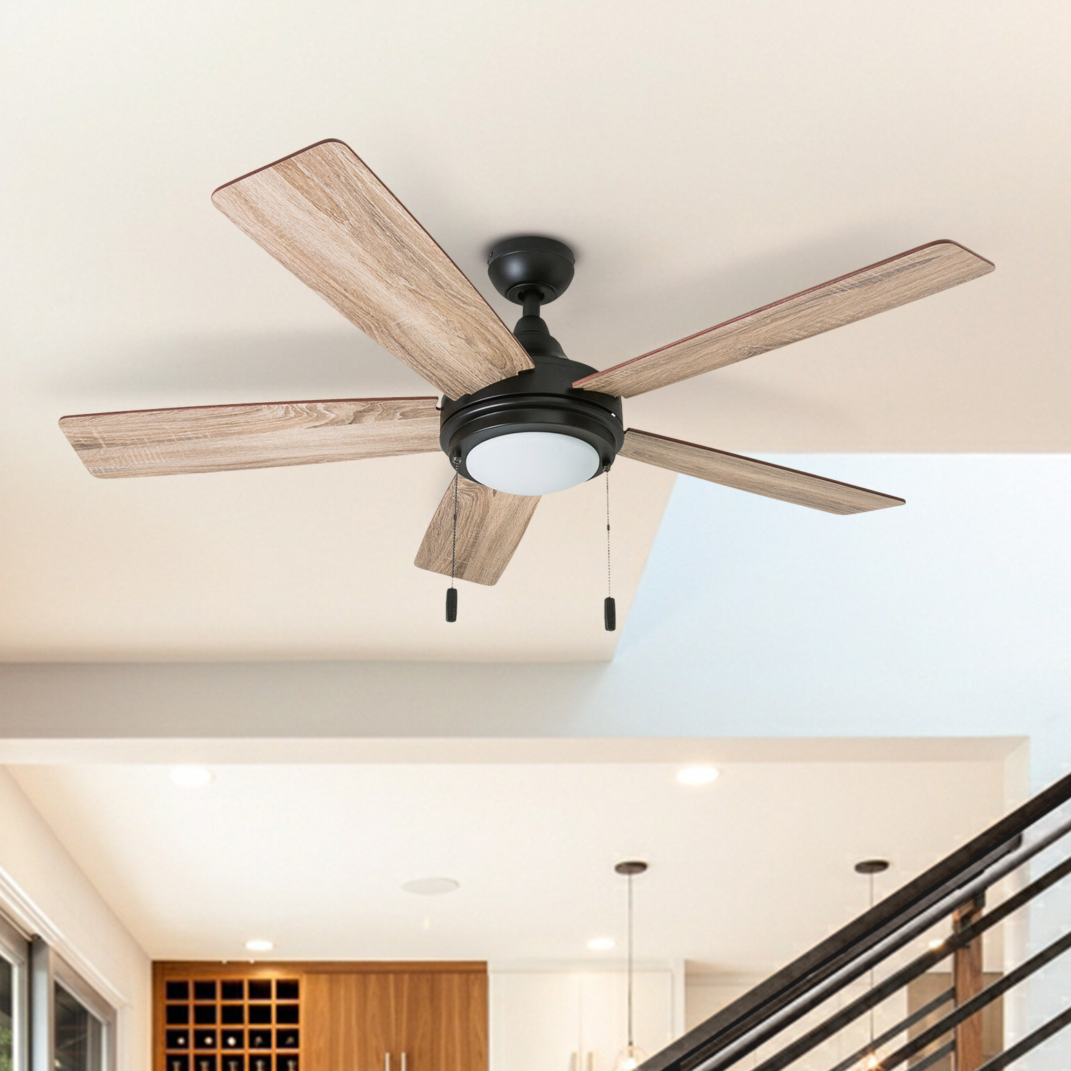 Wayfair Within Auden 5 Blade Led Ceiling Fans (View 13 of 20)