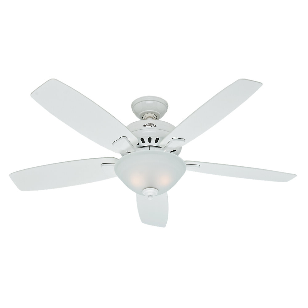 "Well Known 52"" Banyan 5 Blade Ceiling Fan, Light Kit Included With Regard To Banyan 5 Blade Ceiling Fans (View 18 of 20)"