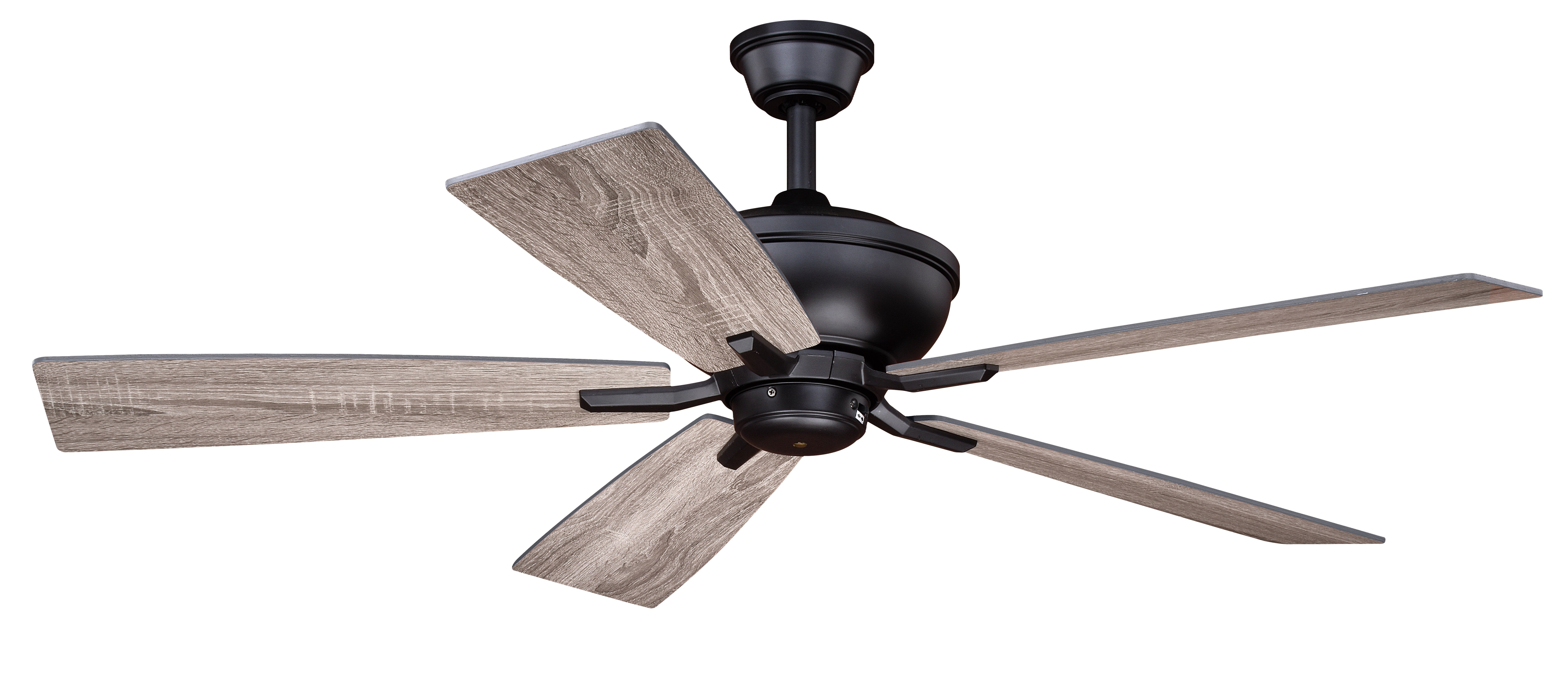 """Well Known 52"""" Hirsch 5 Blade Ceiling Fan With Remote, Light Kit Included Regarding Ravenna 5 Blade Ceiling Fans (View 20 of 20)"""
