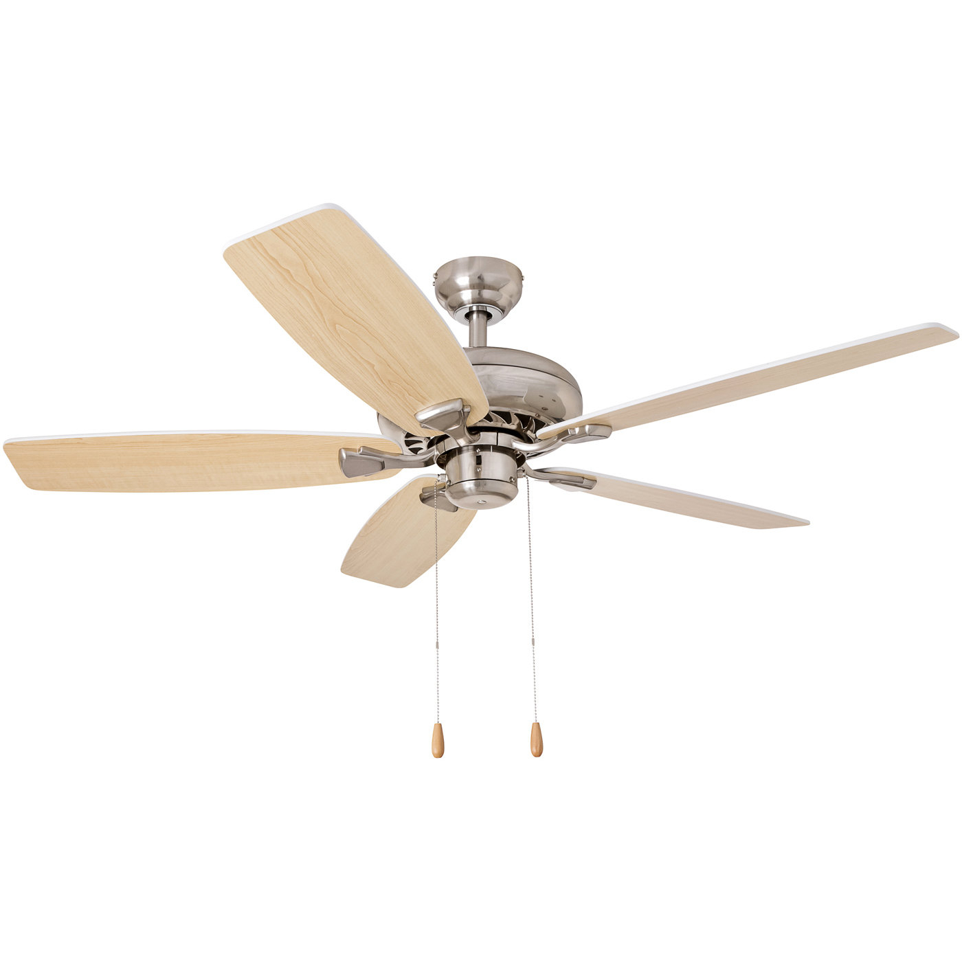 """Well Known 52"""" Redfern 5 Blade Metal Body Ceiling Fan For Builder Elite 5 Blade Ceiling Fans (View 16 of 20)"""