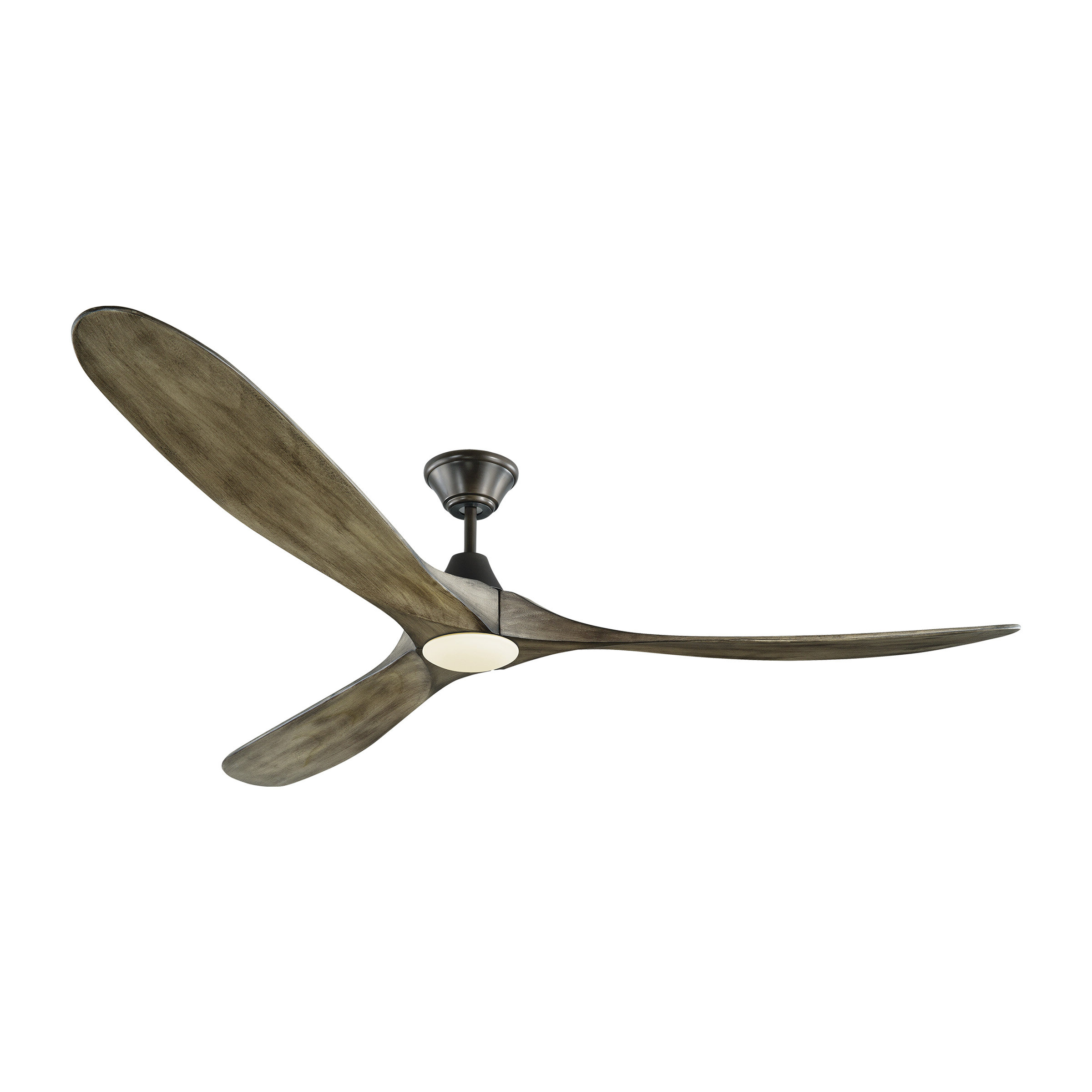 """Well Known 70"""" Bohner 3 Blade Led Ceiling Fan With Remote, Light Kit Included Throughout Paige 3 Blade Led Ceiling Fans (View 19 of 20)"""