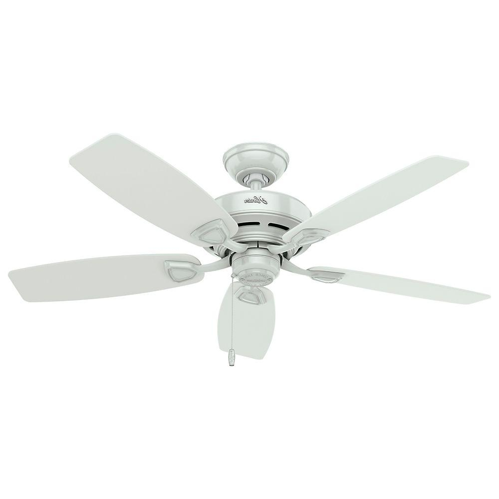 Well Known Anslee 5 Blade Ceiling Fans Throughout Hunter Sea Wind 48 In (View 19 of 20)