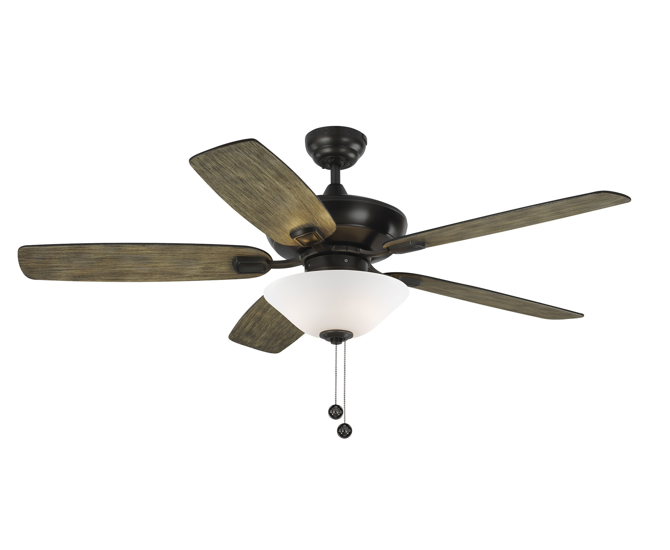 "Well Known Auden 5 Blade Led Ceiling Fans Within 52"" Whisenant Colony Max Plus 5 Blade Led Ceiling Fan With Remote (View 3 of 20)"