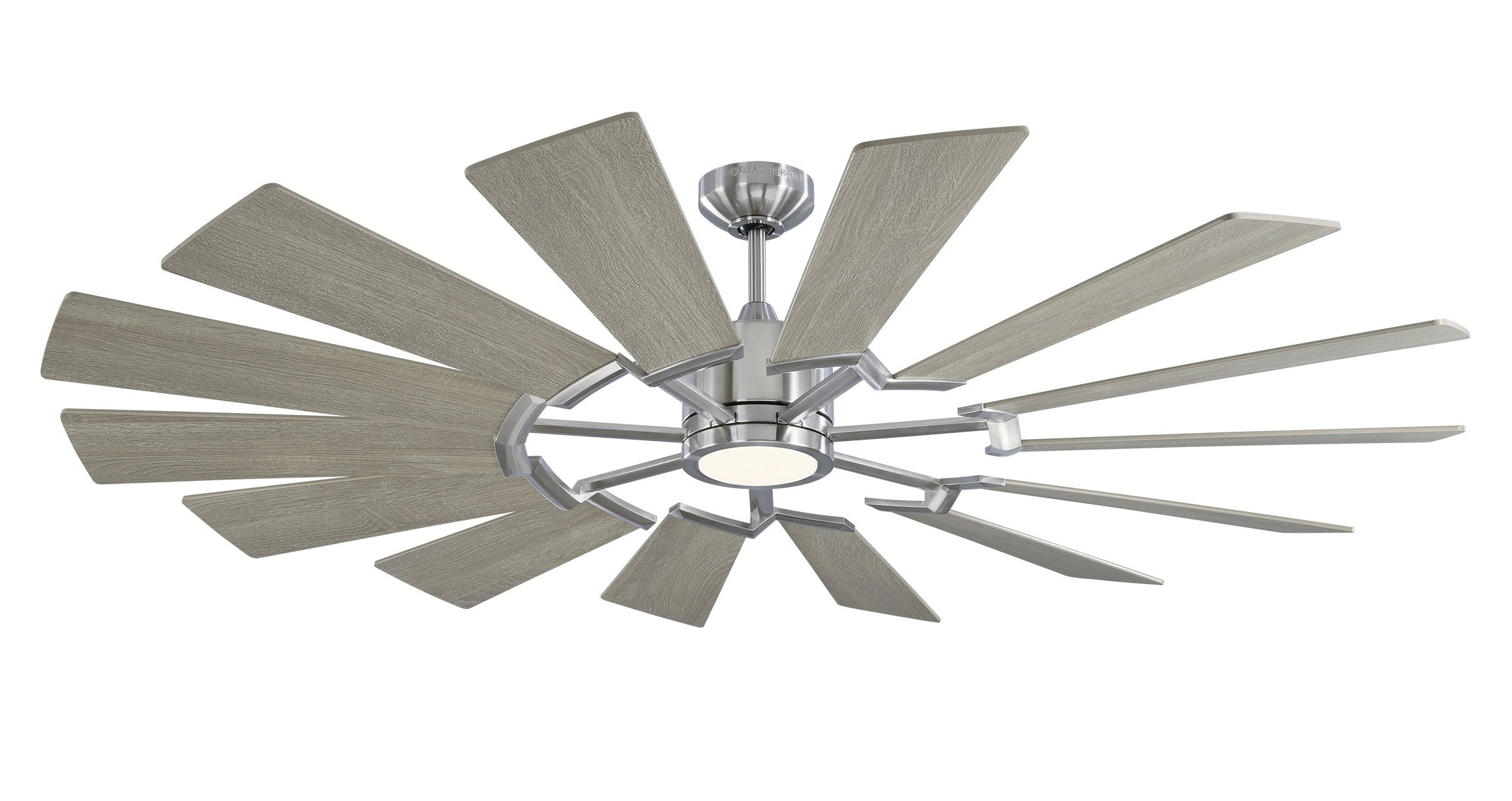 """Well Known Bankston 8 Blade Led Ceiling Fans With 62"""" Fischer 14 Blade Led Ceiling Fan With Remote (View 16 of 20)"""