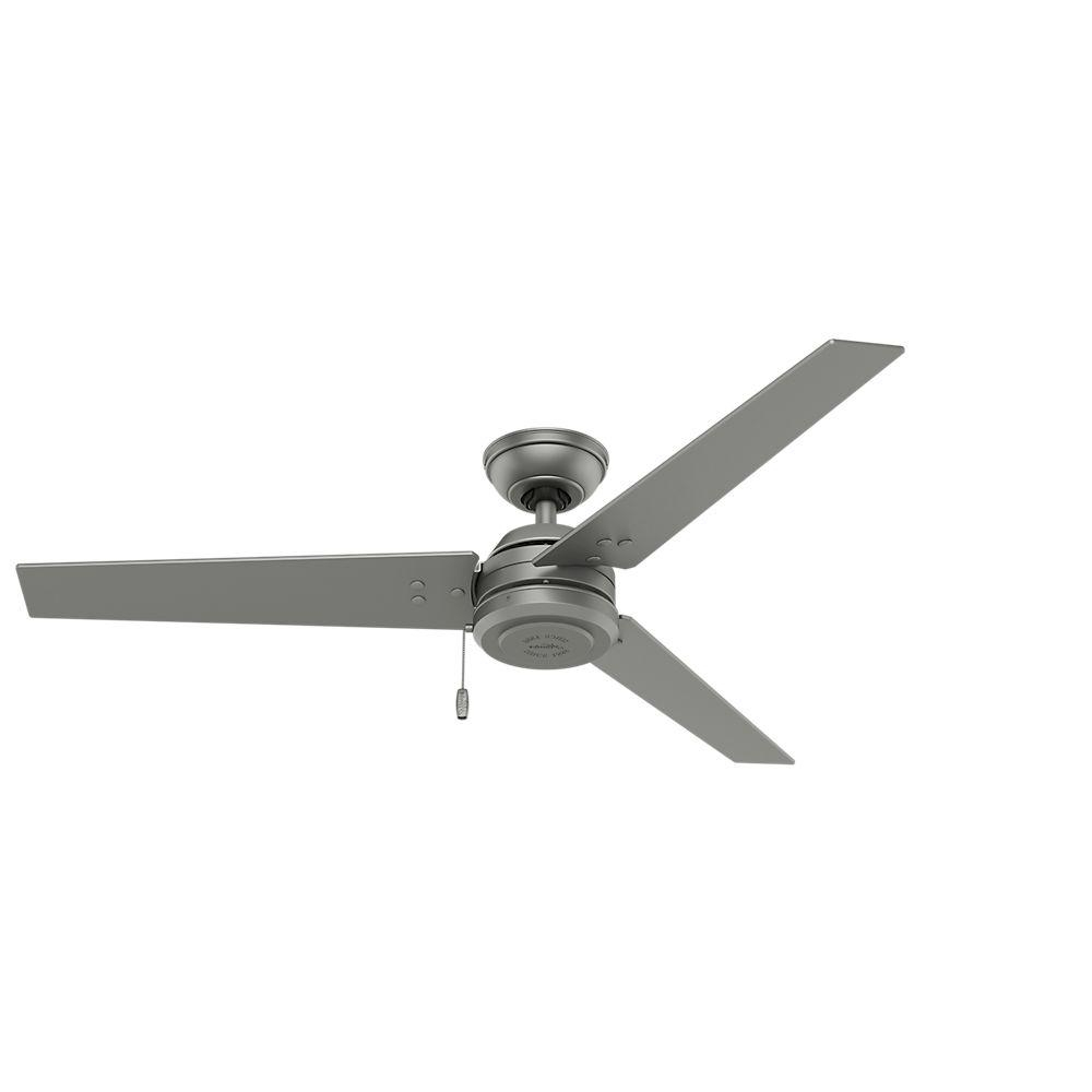 Well Known Cassius 3 Blade Outdoor Ceiling Fans In Hunter Cassius 52 In (View 20 of 20)