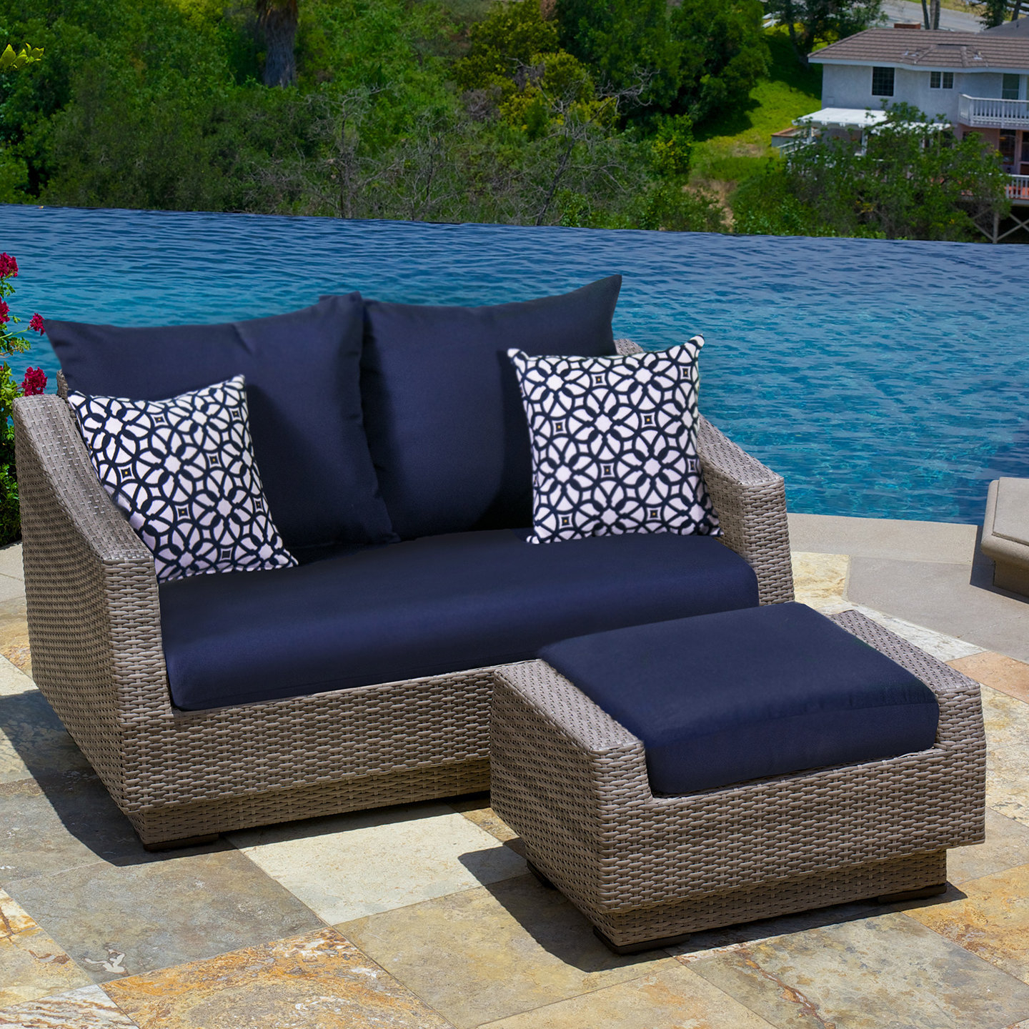 Well Known Castelli Loveseat With Cushions Inside Castelli Loveseats With Cushions (View 18 of 20)