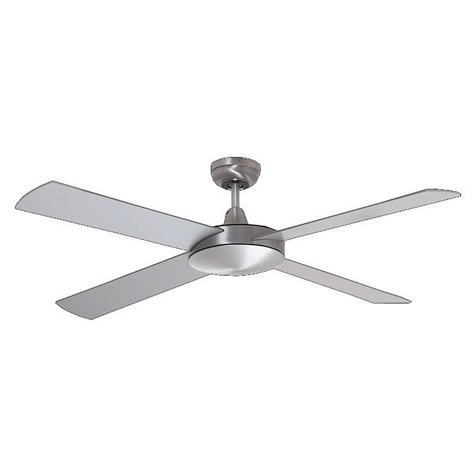 Well Known Embrace 3 Blade Ceiling Fans Intended For Lifestyle 4 Blade Ceiling Fan, Brushed Aluminium (View 12 of 20)
