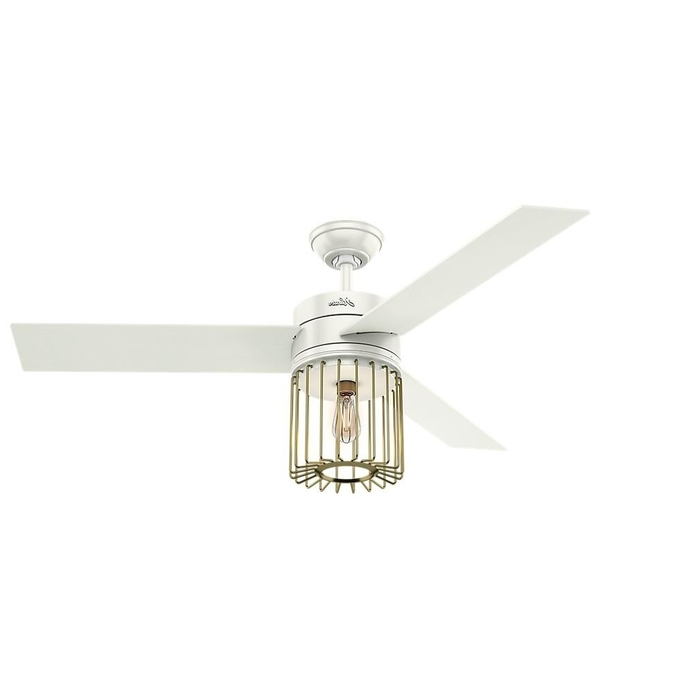 Well Known Hunter Ronan Ceiling Fan Model 59238 In Ronan 3 Blade Ceiling Fans (View 5 of 20)