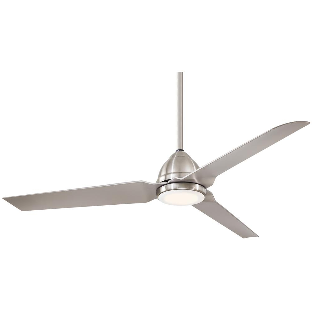 Well Known Java 3 Blade Outdoor Led Ceiling Fans Pertaining To Minka Aire Java 54 In (View 19 of 20)