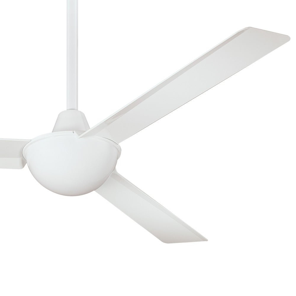 Well Known Kewl Ceiling Fan In White Finish W/ White Bladesminka Aire Pertaining To Kewl 3 Blade Ceiling Fans (View 20 of 20)
