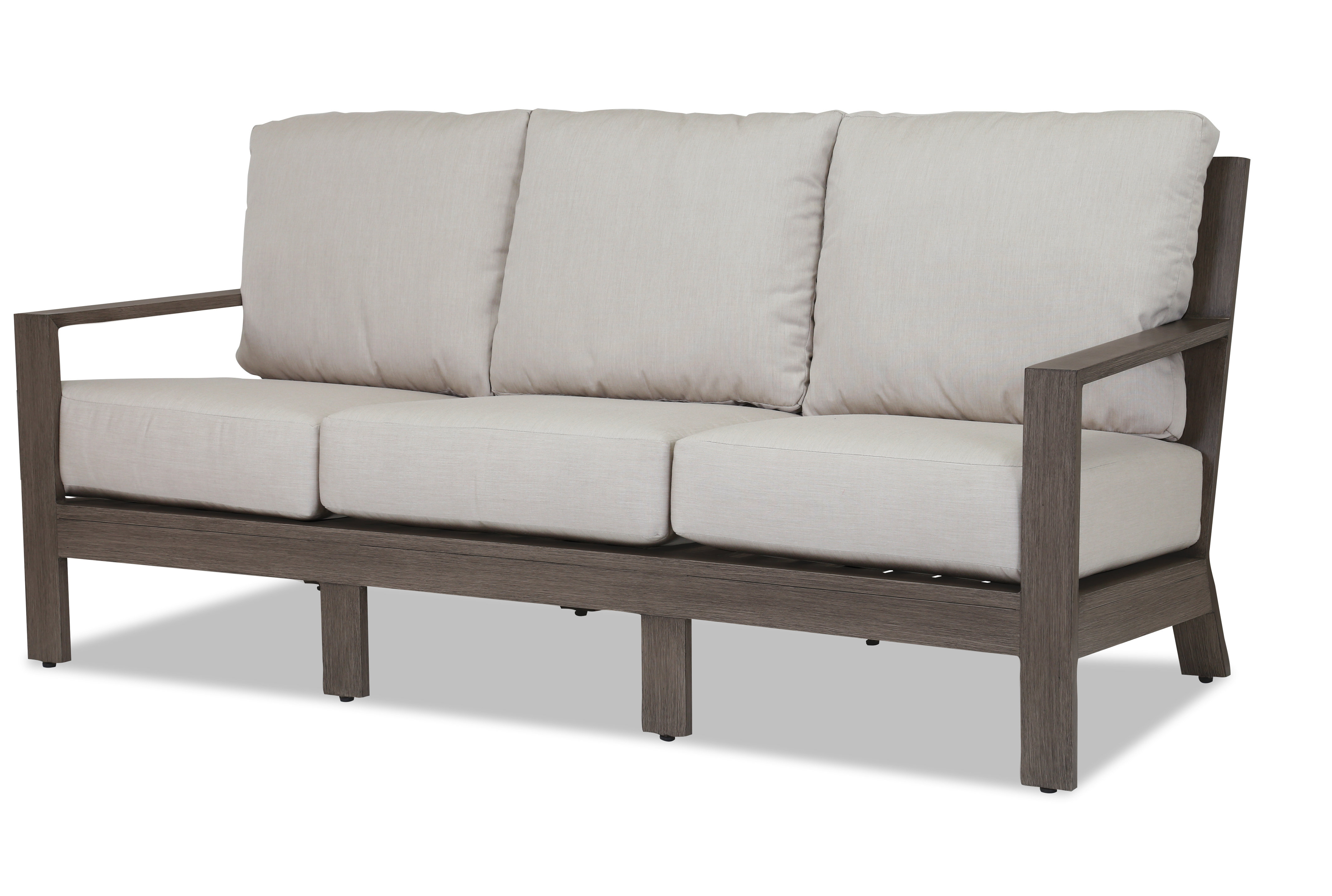 Well Known Laguna Patio Sofa With Sunbrella Cushions In Laguna Outdoor Sofas With Cushions (View 19 of 20)