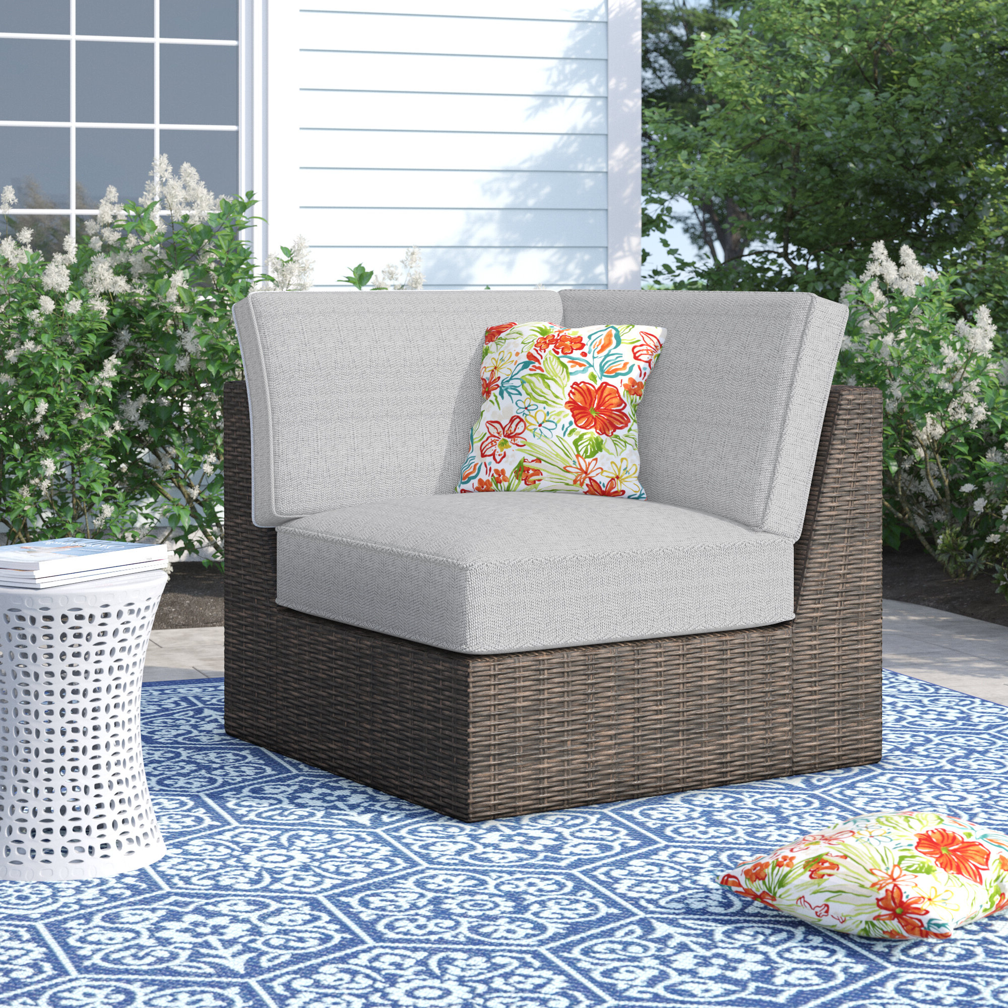 Well Known Oreland Patio Sofas With Cushions For Oreland Patio Chair With Cushions (View 3 of 20)