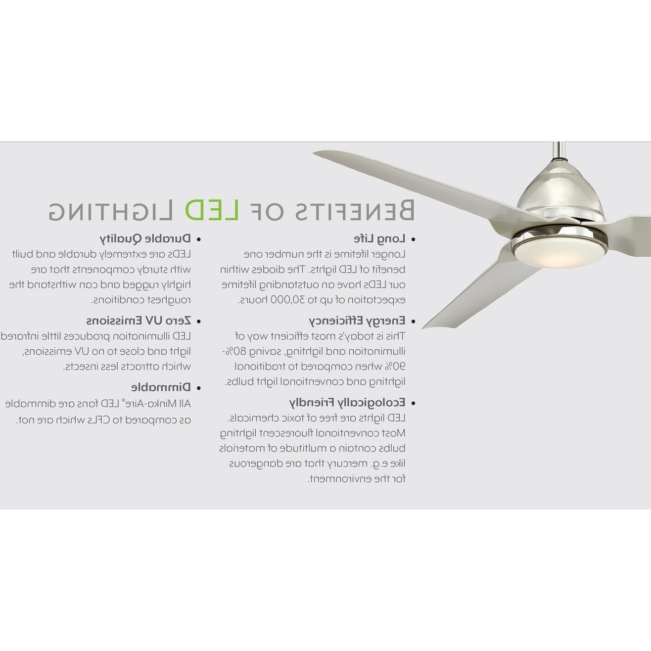 Well Known Raptor 60 Inch Ceiling Fan With Led In Gun Metal Finish W/gun Metal Blades Throughout Raptor 5 Blade Ceiling Fans (View 17 of 20)
