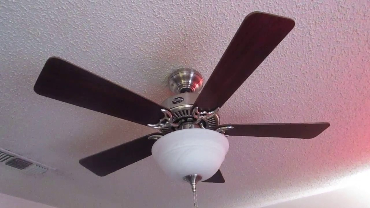 Well Known The Kensington 5 Blade Ceiling Fans Intended For Hunter Kensington Ceiling Fan (in The Family Room) (View 13 of 20)